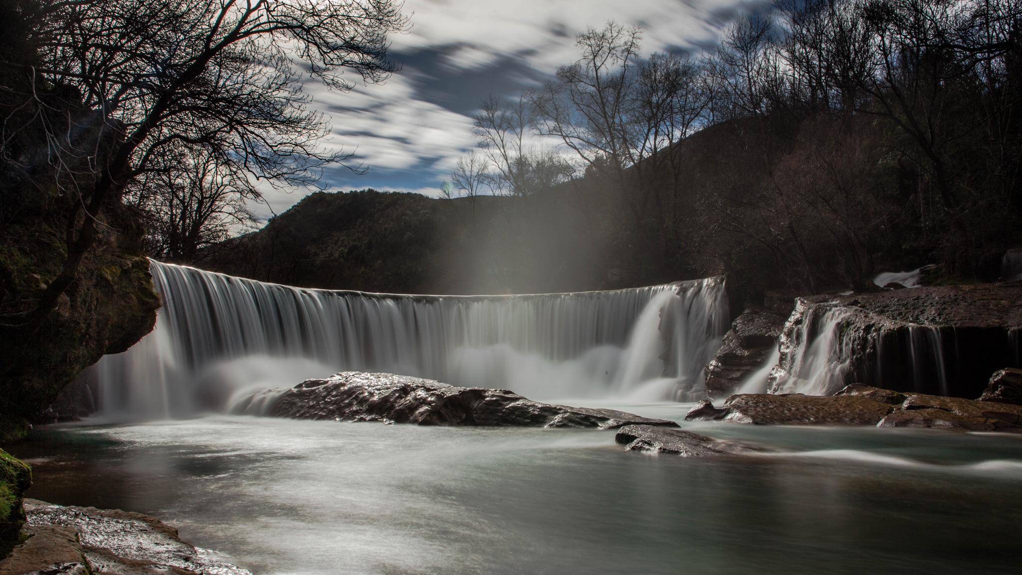 The dream waterfall by JustinGalant
