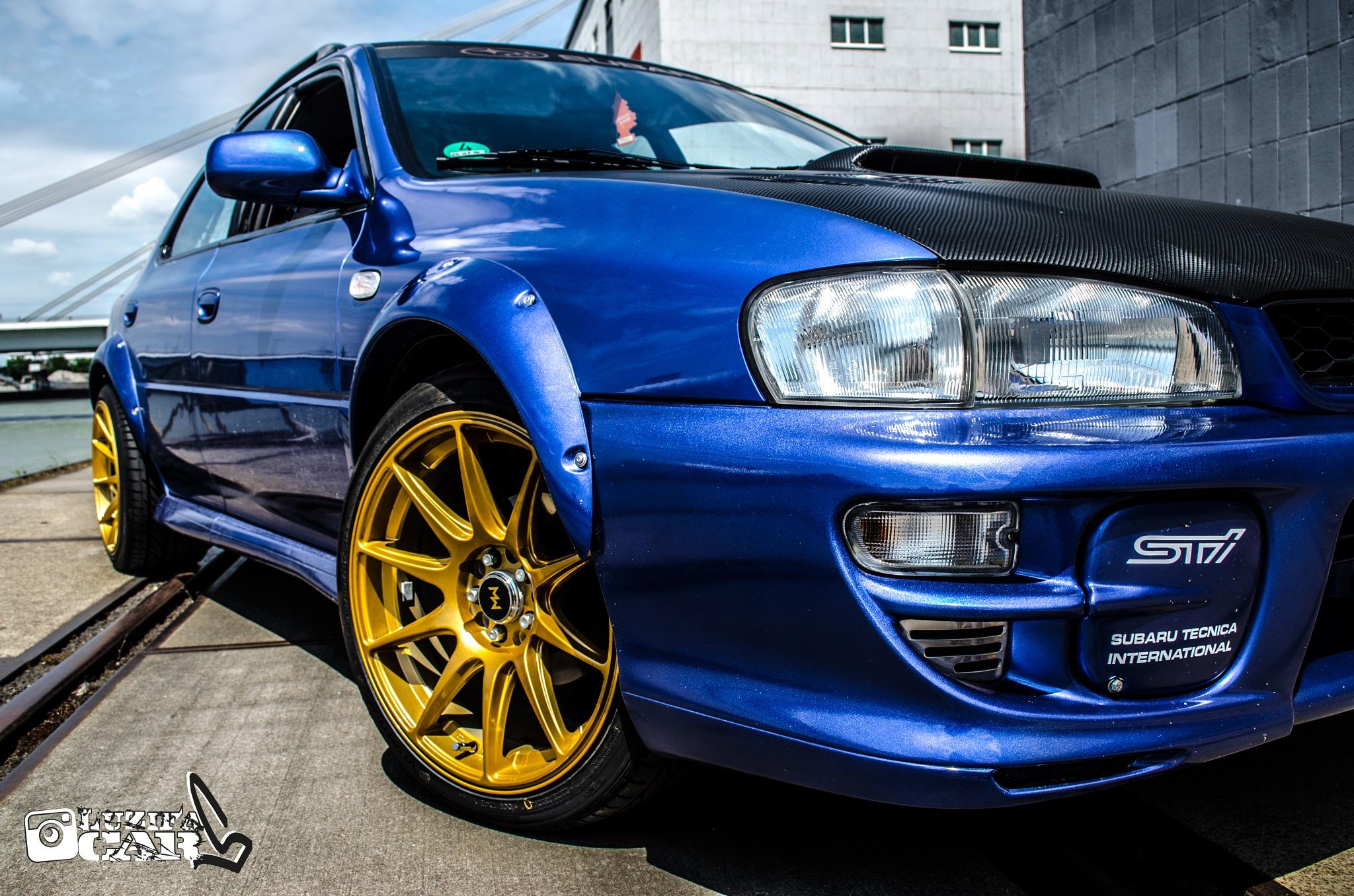 Subaru Impreza GF8  by Ivan Camora