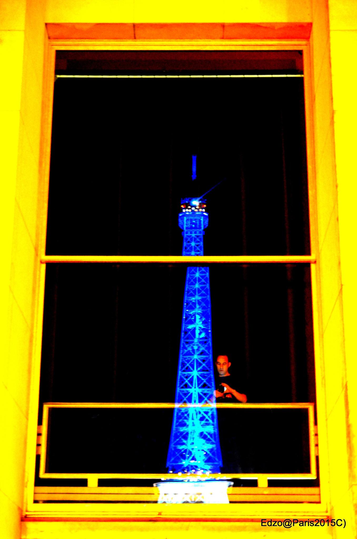 EIFFEL TOWER PATRIOT by Emmanuel De Zorzi