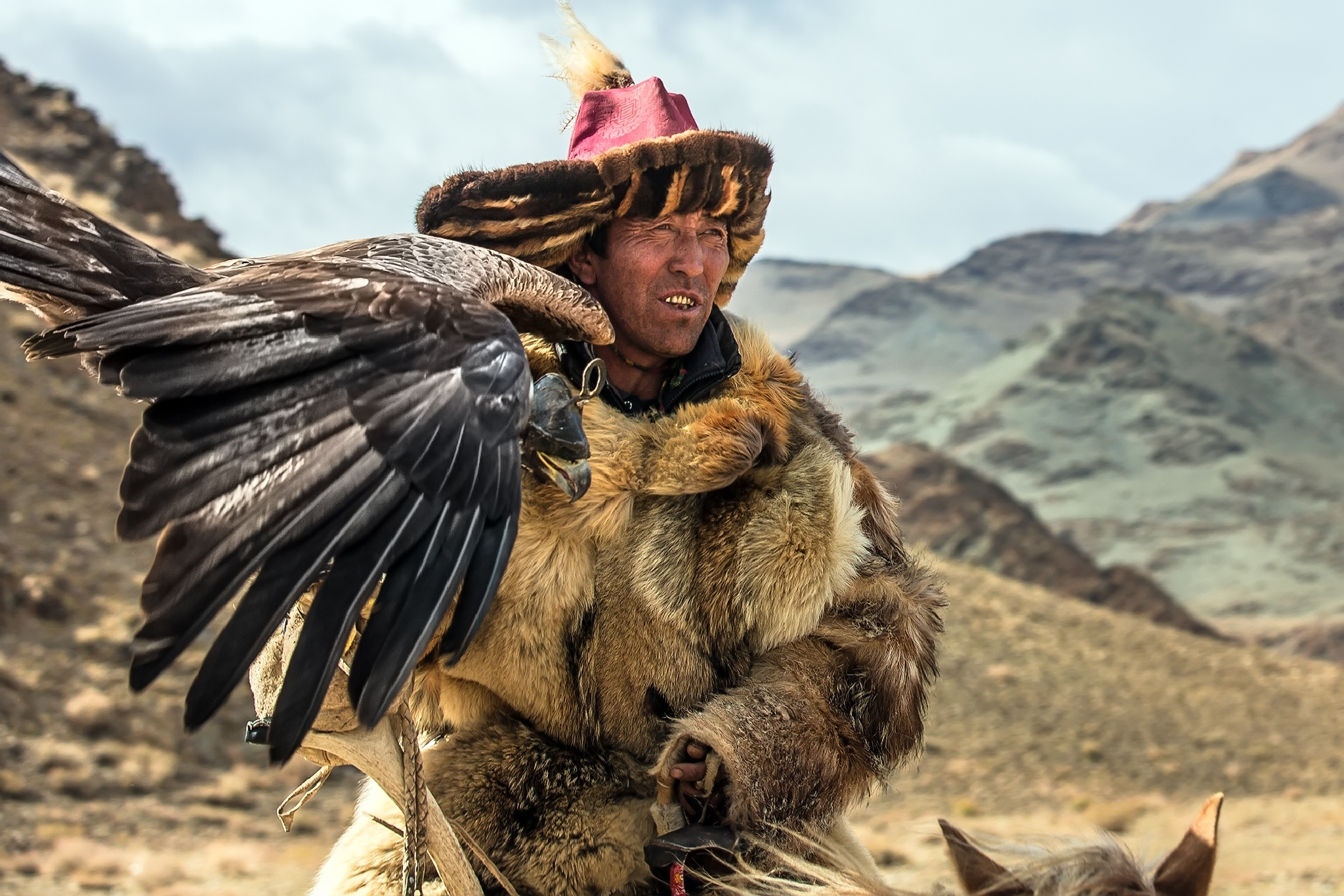 The Golden Eagle Festival In Mongolia  by Batzaya Photography