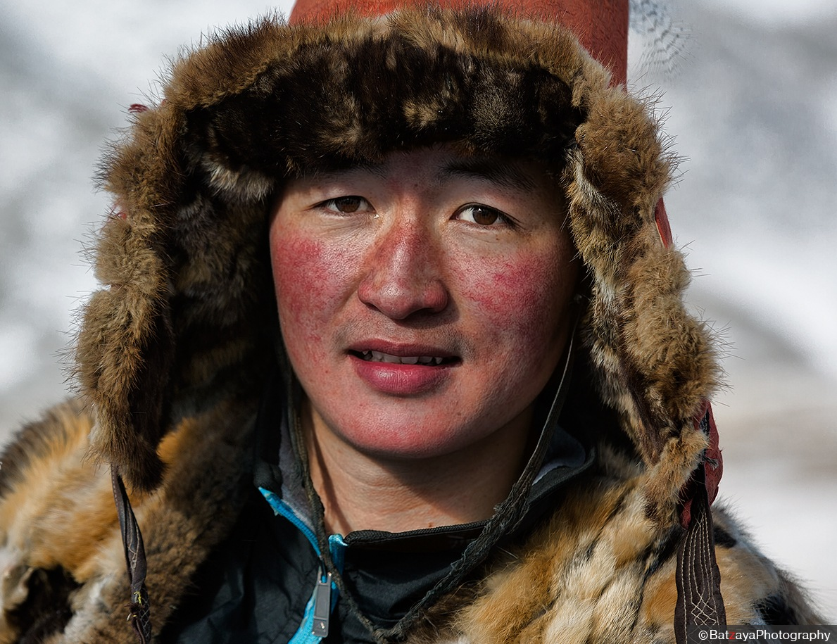 Kazakh boy, Mongolia by Batzaya Photography