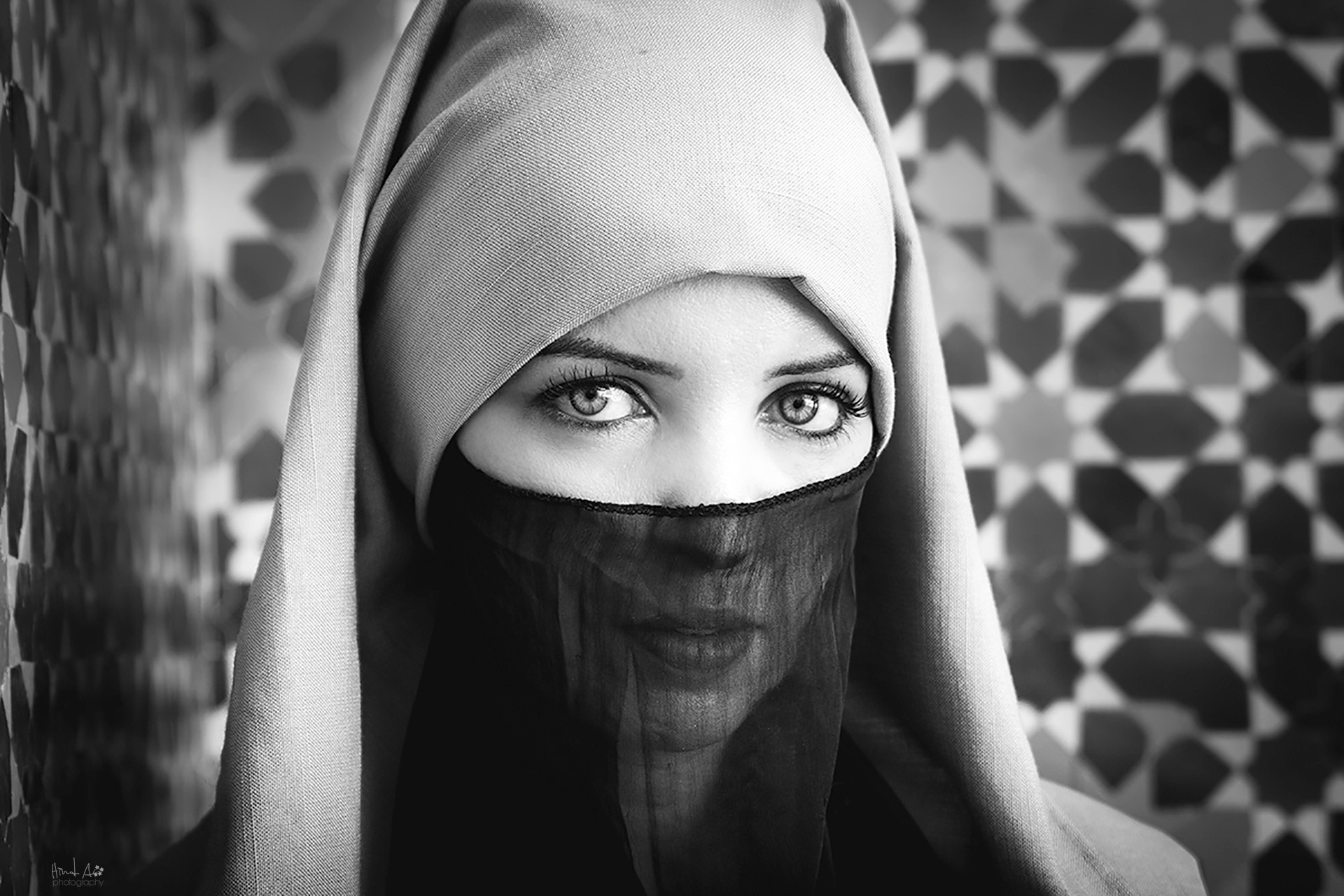 These eyes by Hind Al