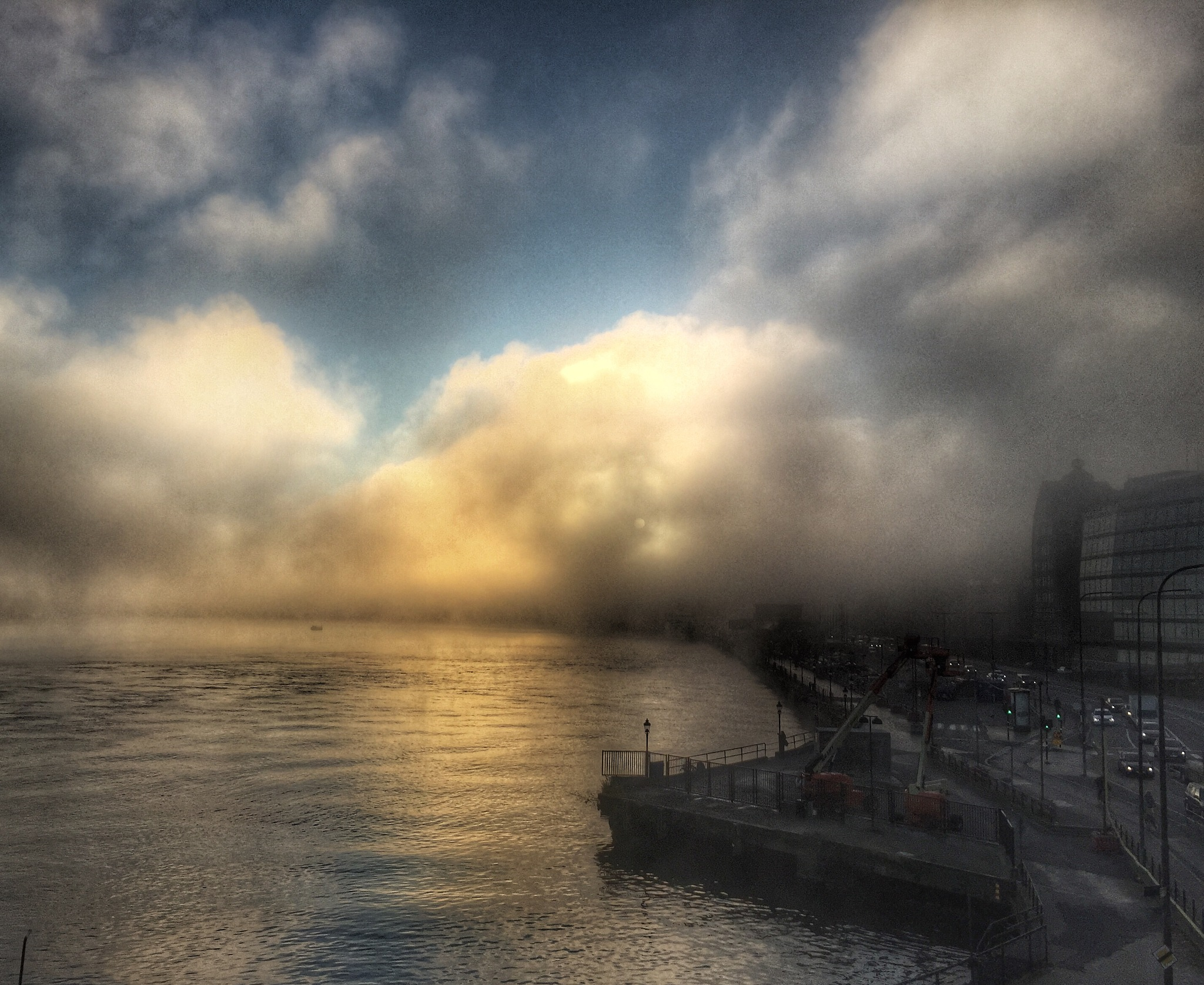 Foggy Morning in Stockholm  by PhotoLena
