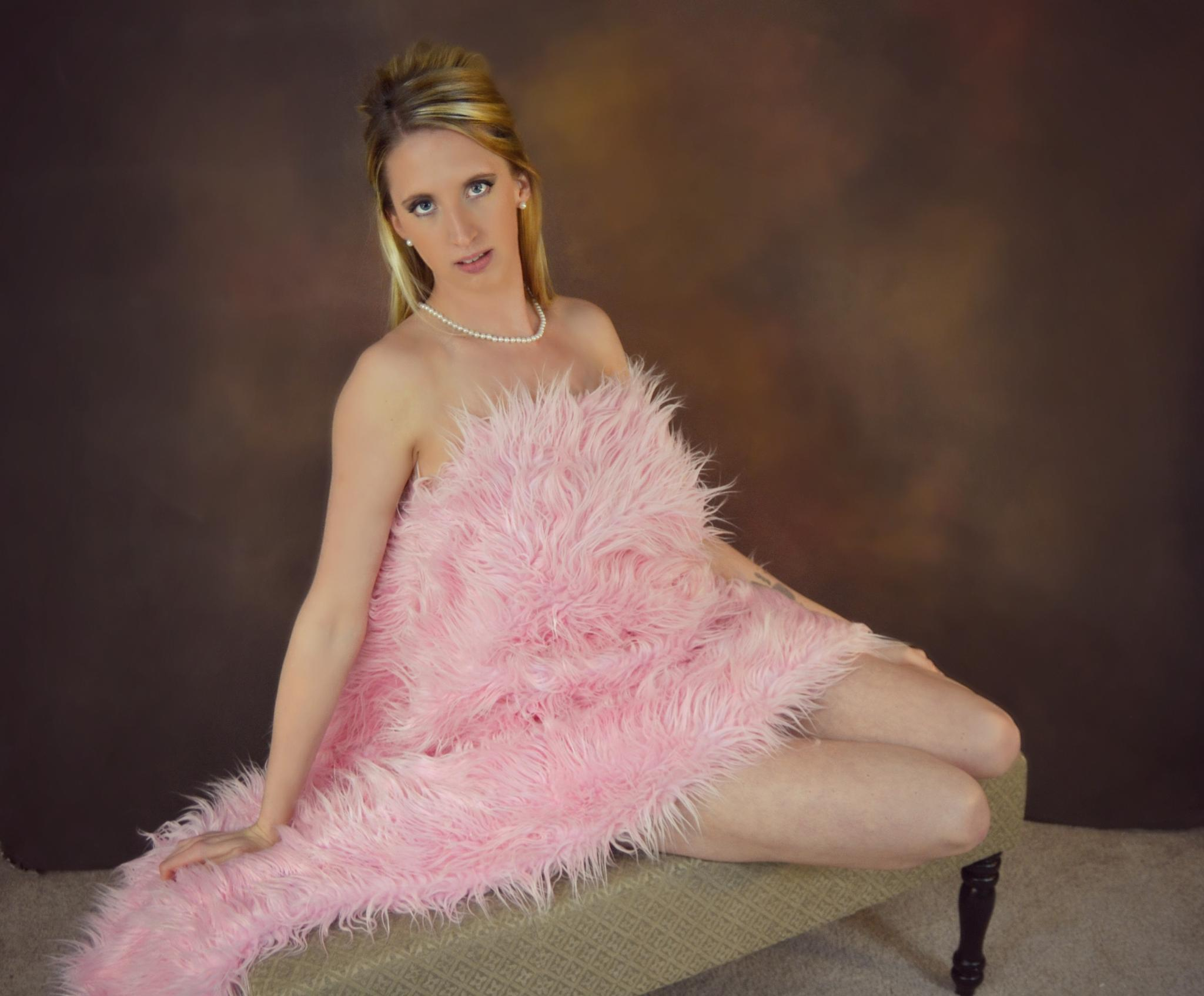 Lady Pink by Kelly Brown Photography