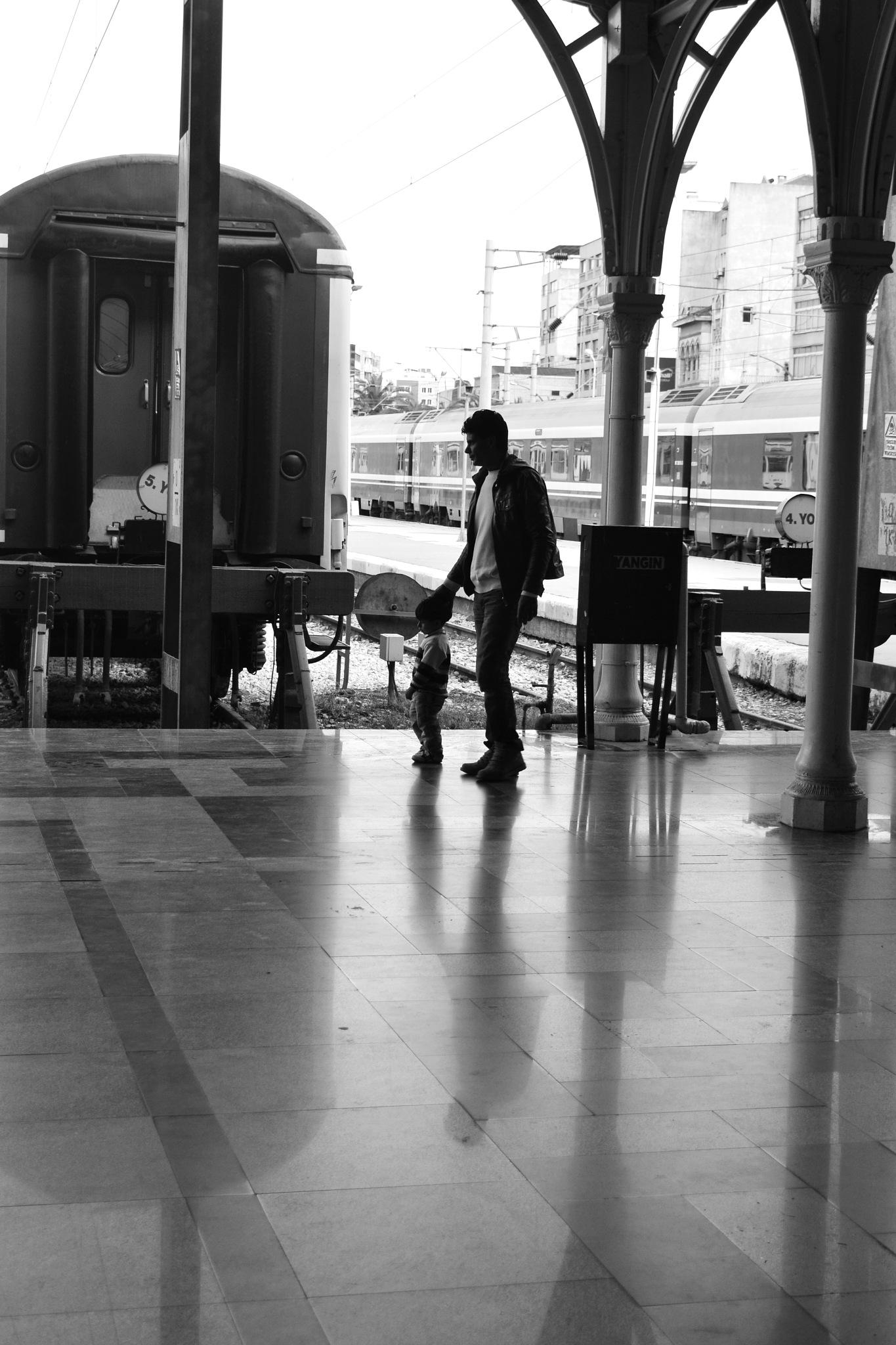 #Basmane train station . by özlem sülo