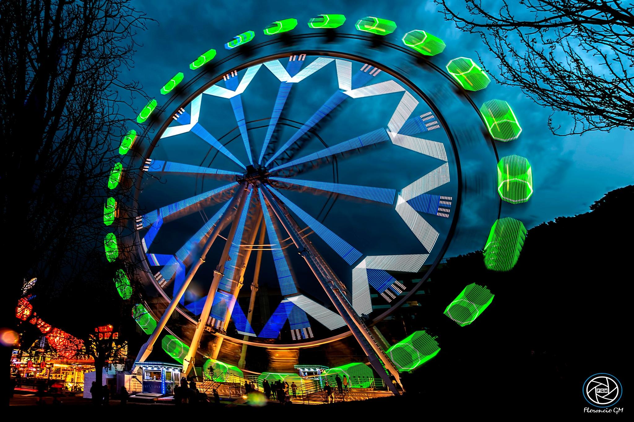 The Ferris wheel by Florencio GM