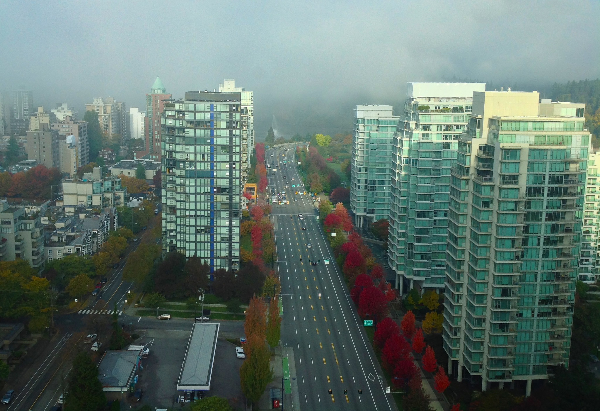 Fall in Vancouver by Donald Bruce Edward Wilson