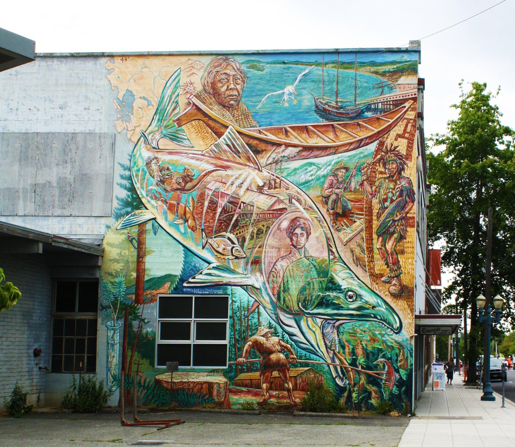 Street Art by Donald Bruce Edward Wilson