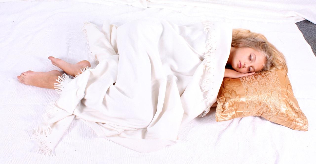 Sleeping little girl by Lightspear