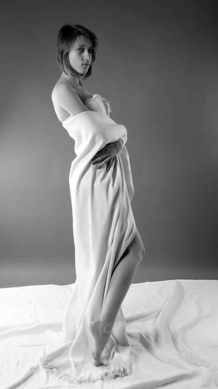 Girl in white by Lightspear