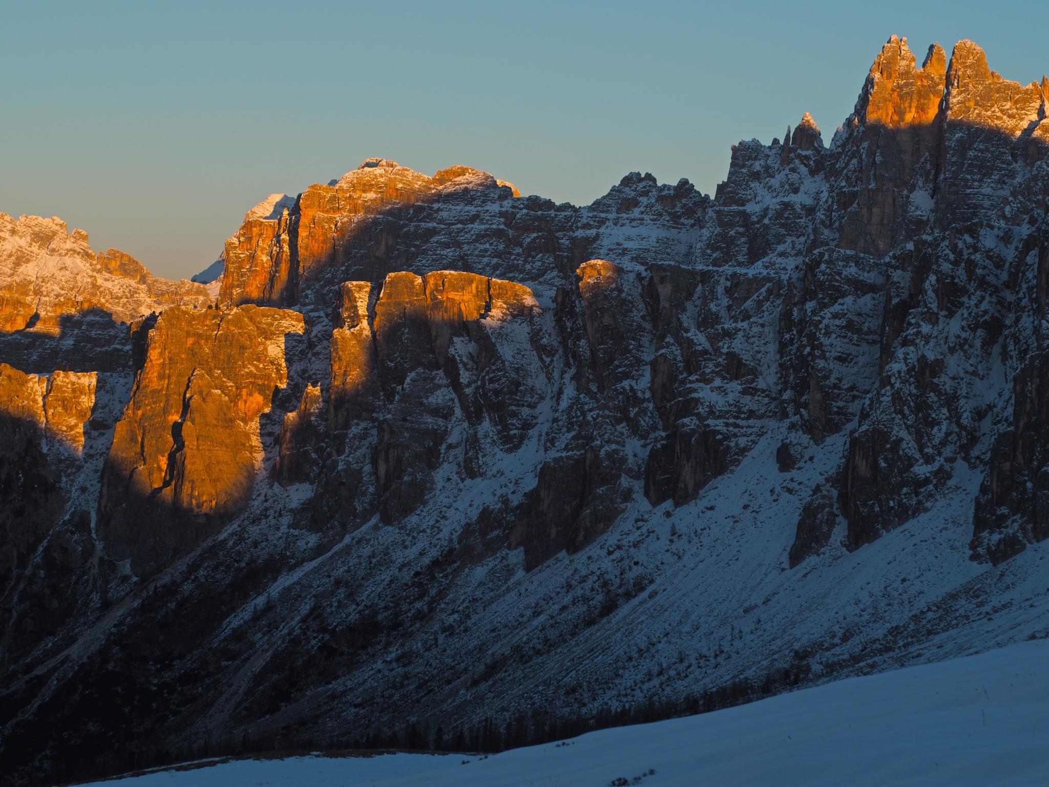 Dolomities Sunset  by Giancarlo Cappellari