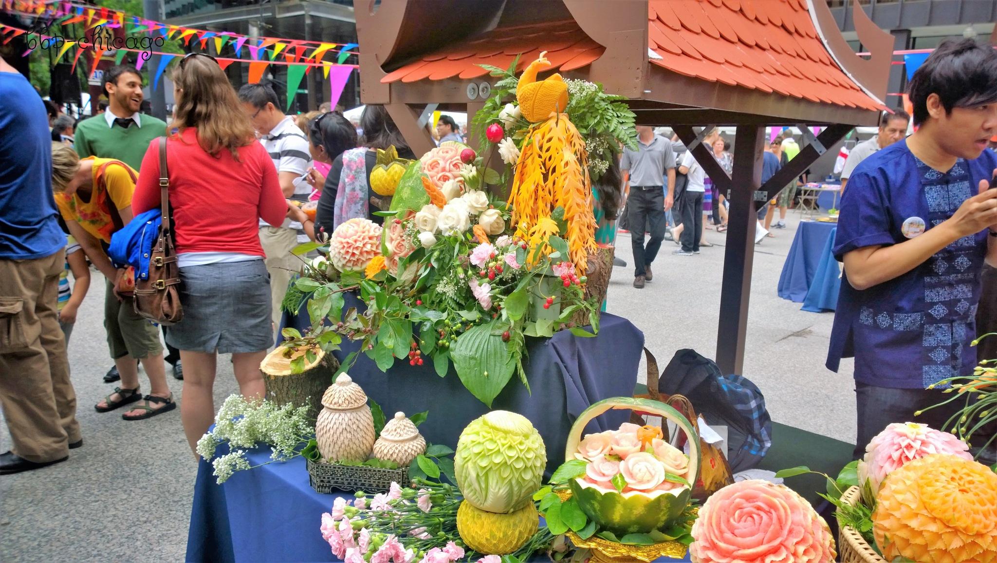Street Vendor Artistry by Michele
