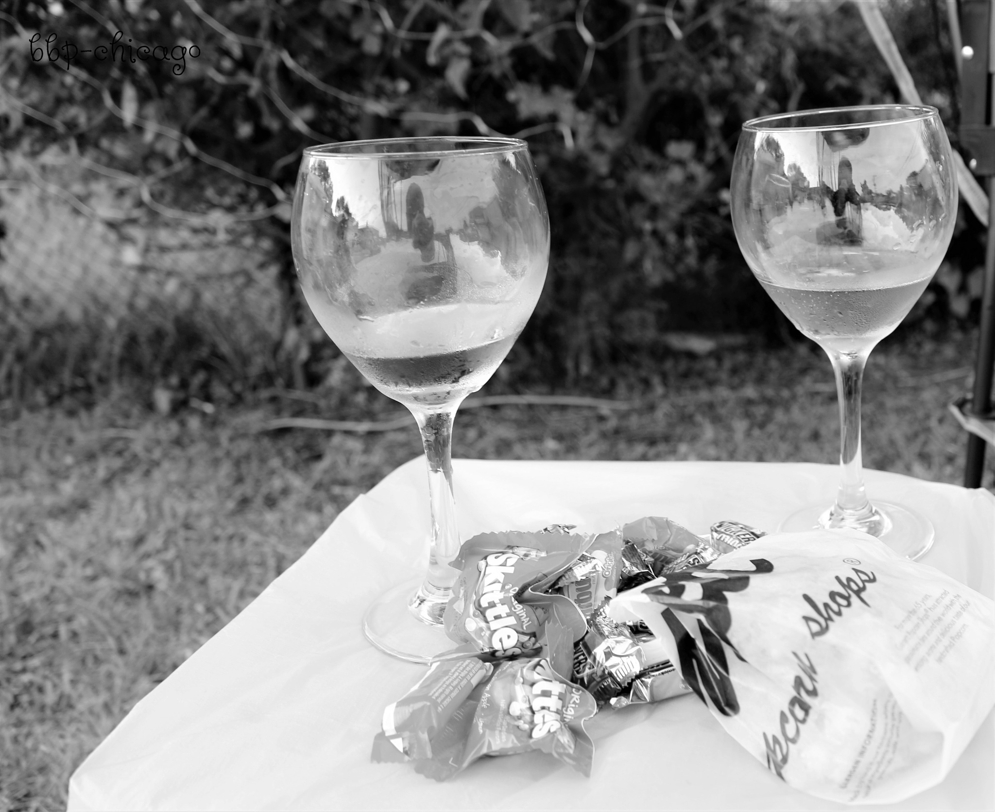 Last Summer Wine with snacks by Michele