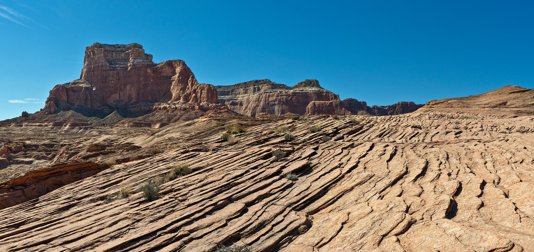 Face Canyon Red Rock by Bret Little
