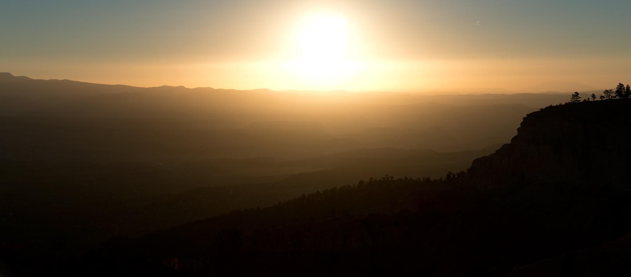 Mountain Sunrise by Bret Little