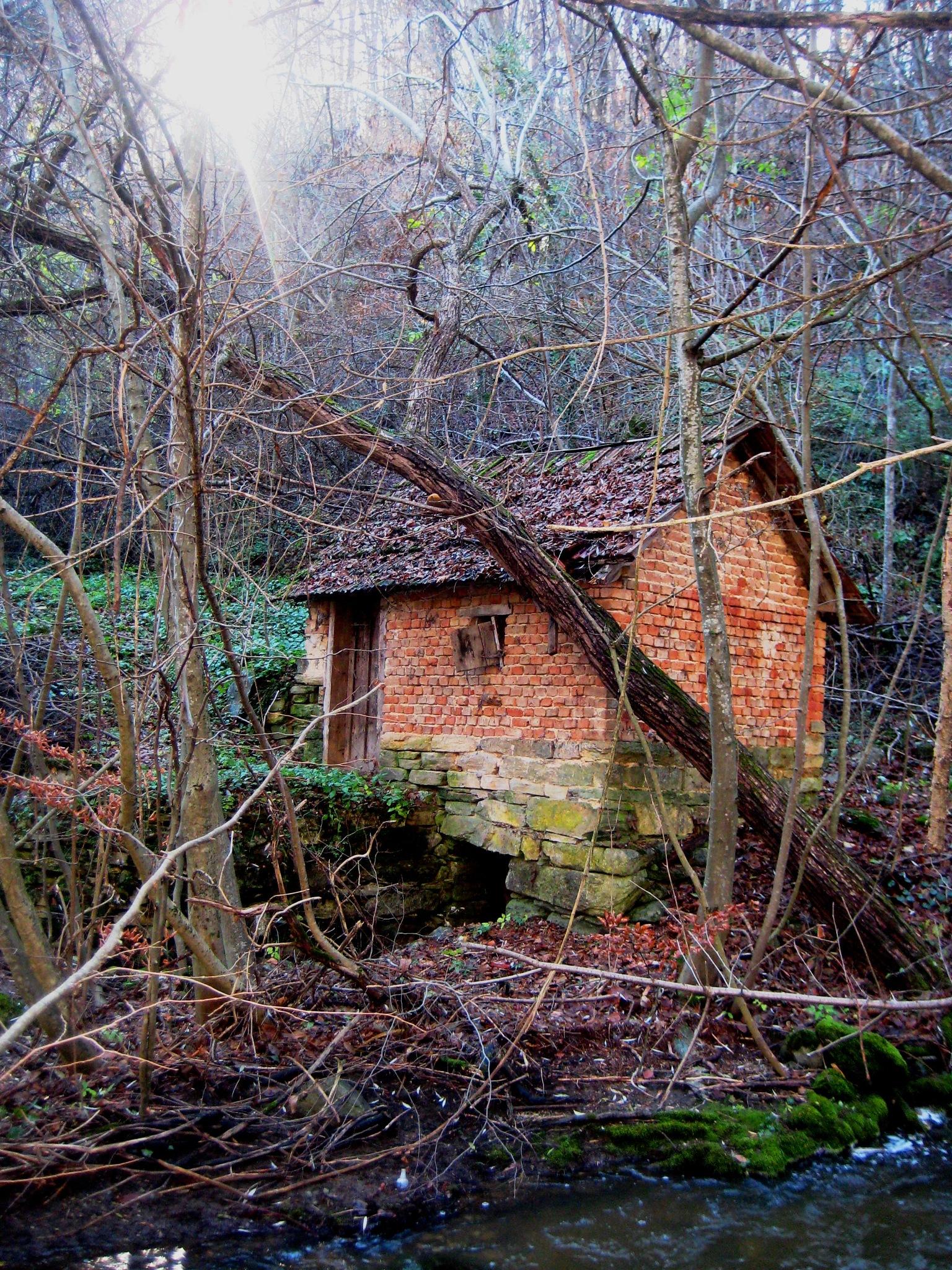 abandoned watermills by VeraMihajlovic