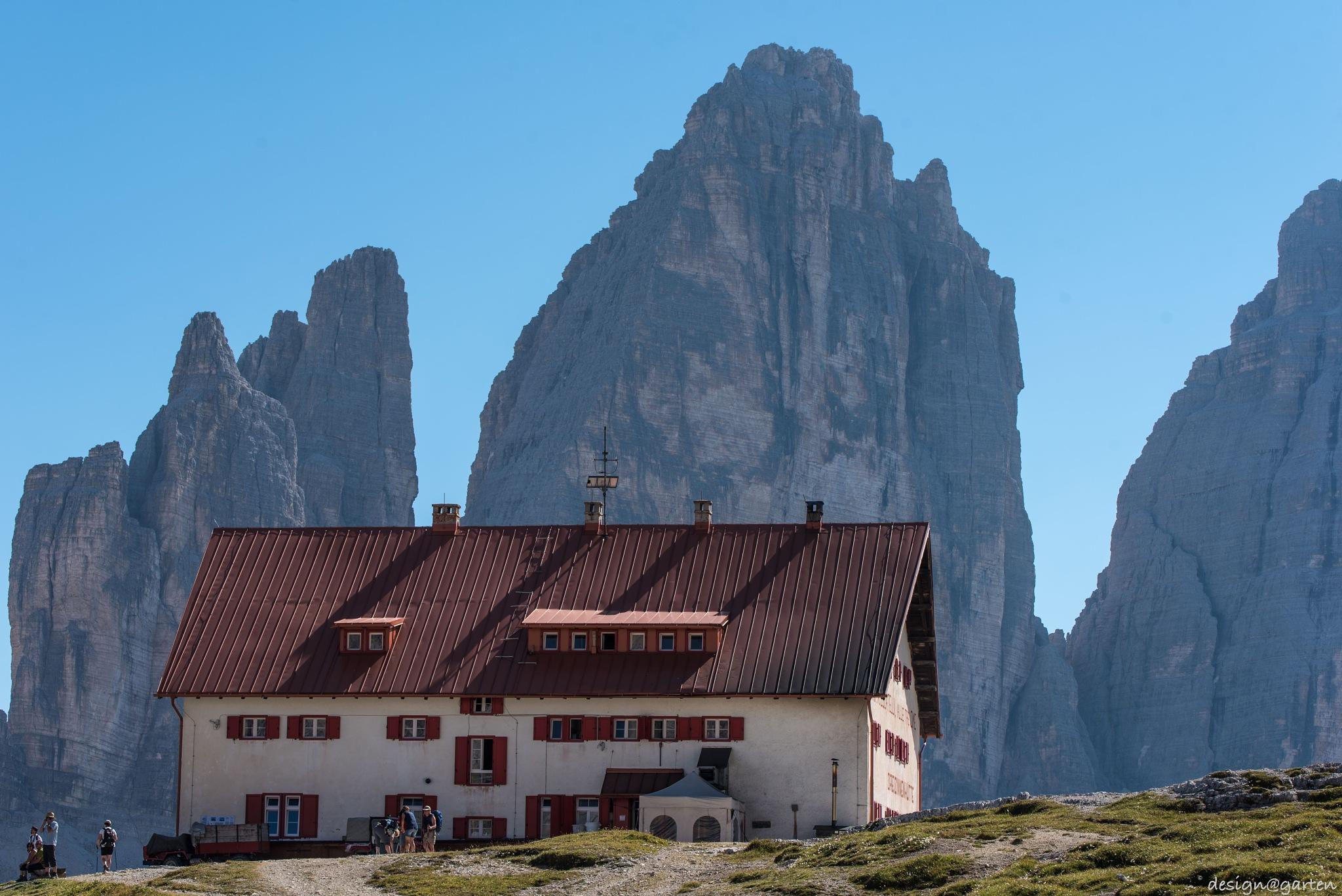 Drei Zinnen Hütte, Südtirol -  Italy by designgarten