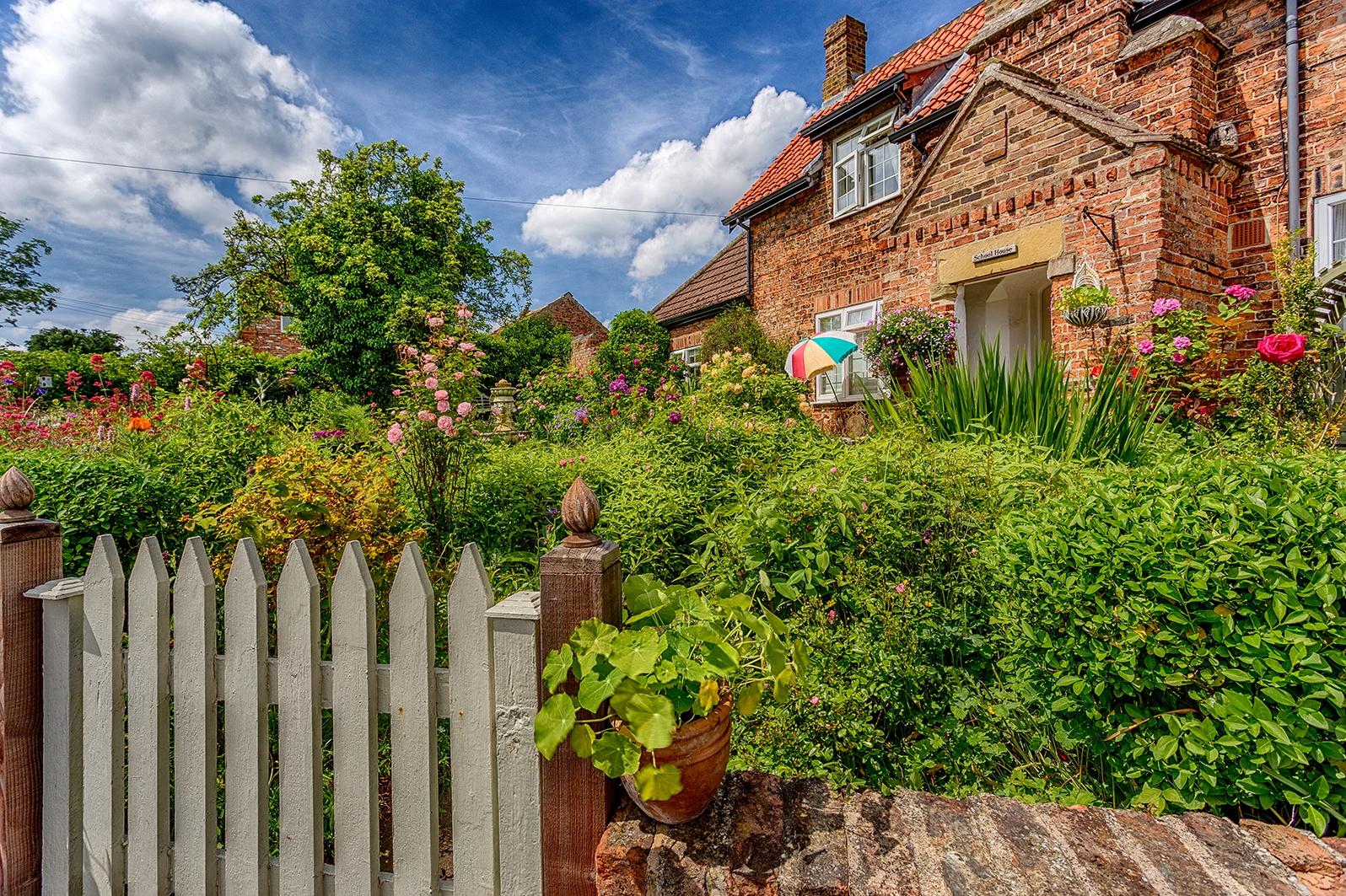 School House Garden by Tony Shaw