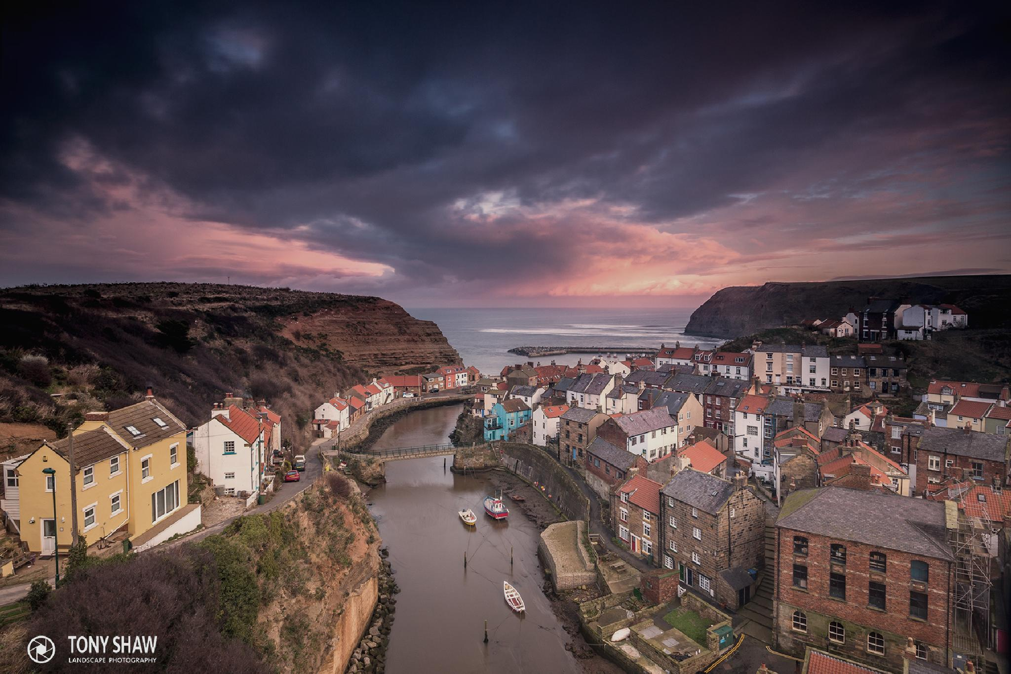 Staithes by Tony Shaw