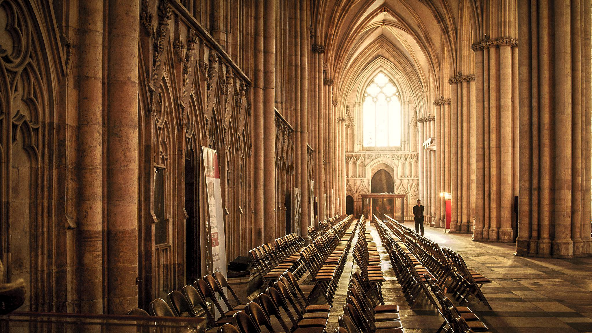 York Minster by Tony Shaw