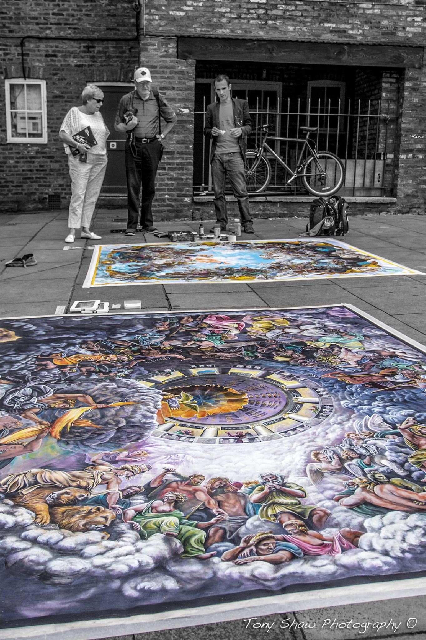 Street Artist by Tony Shaw