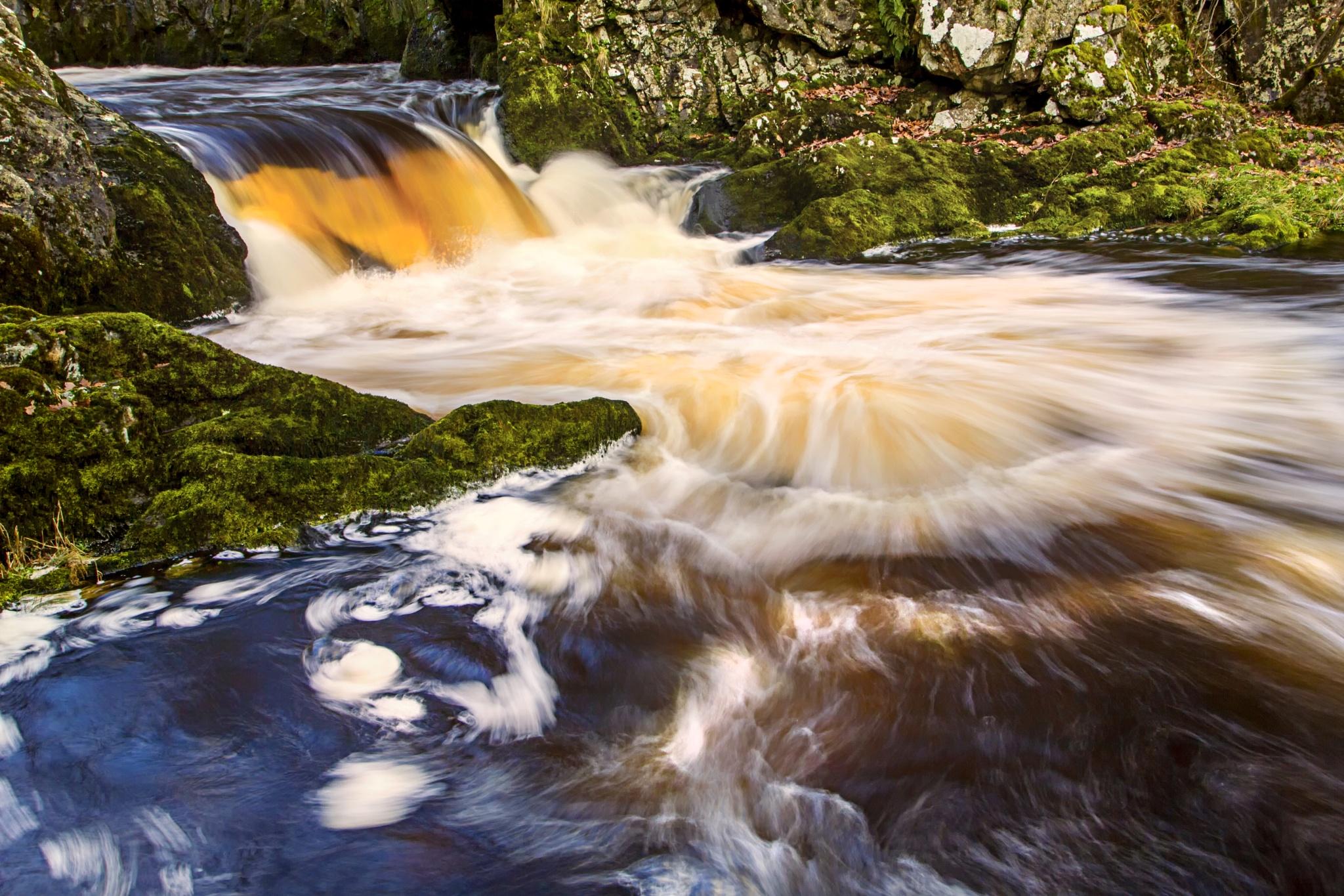 Waterfall  by Tony Shaw