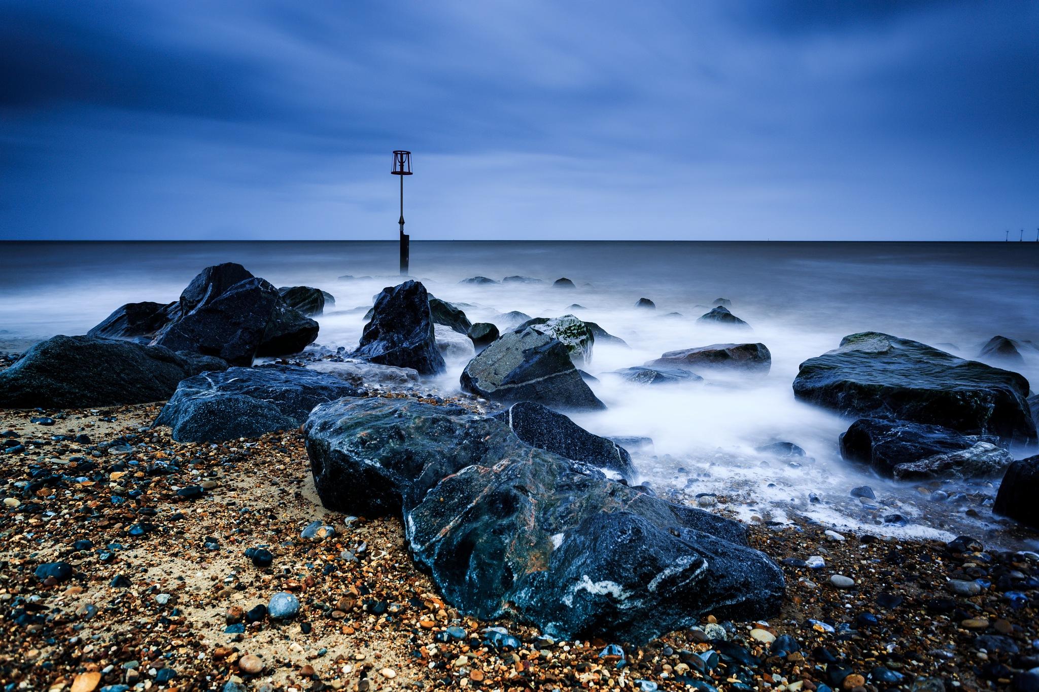 Breakwater by Tony Shaw