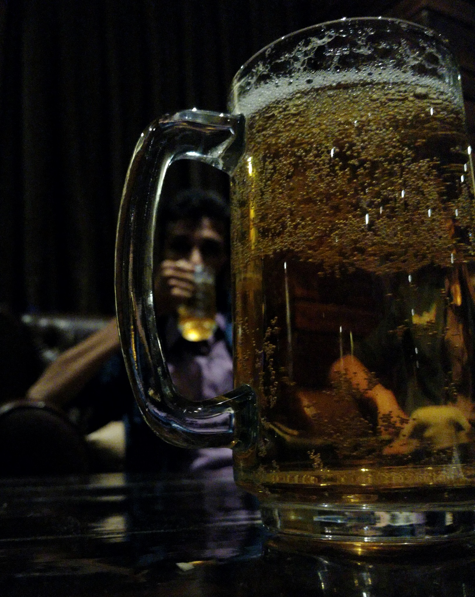 through the beer by Rahul Lohar