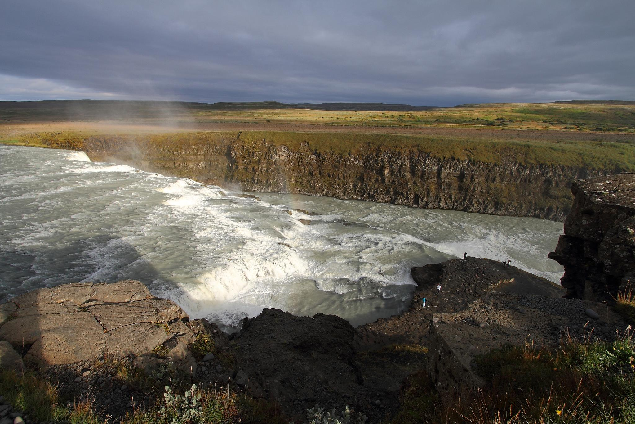 Gullfoss Falls - Iceland  by SHOUT