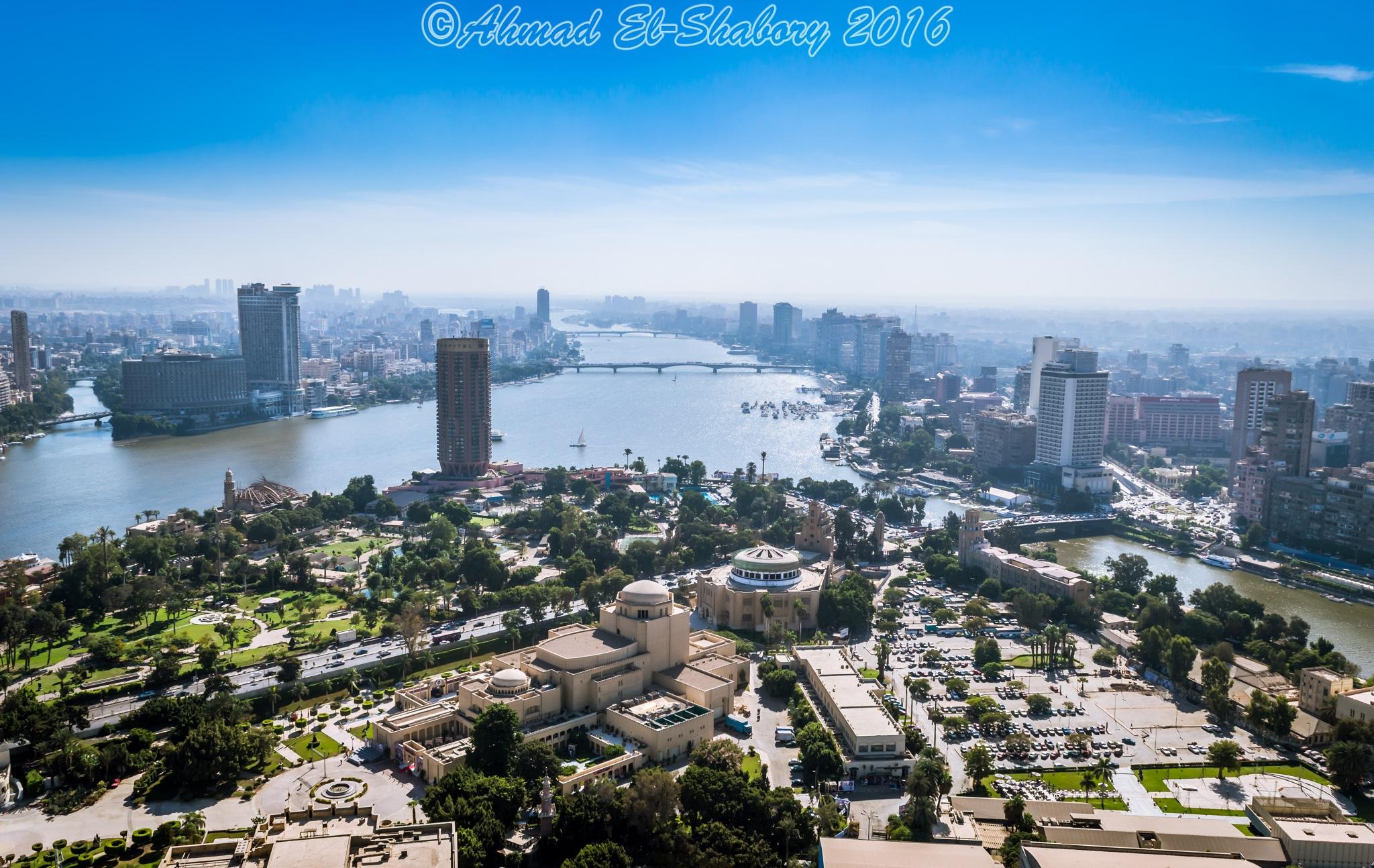 Cairo View by Ahmad Al-Shabory