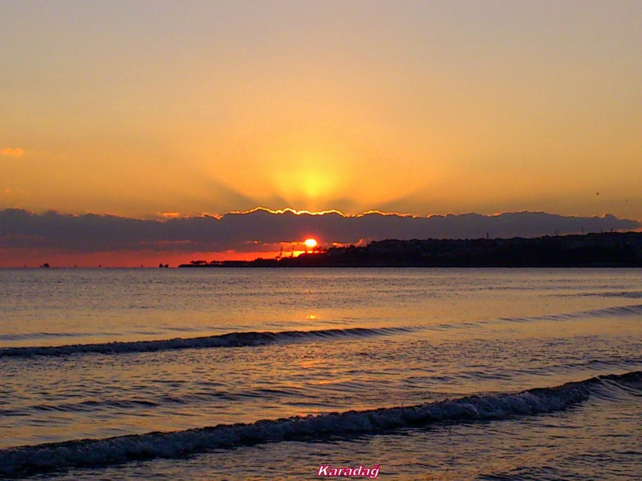 SUNSET... by Karadag