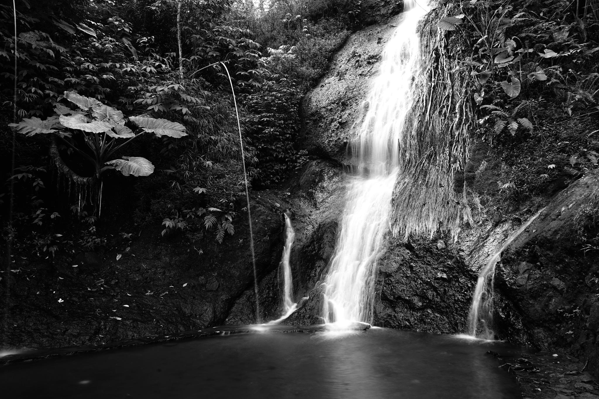 Waterfall by Ahmad Kamaluddin Ashari