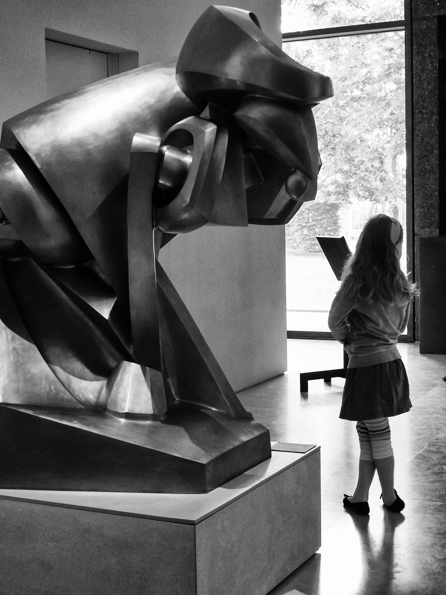 """""""Cheval Majeur""""  par  Raymond Duchamp-Villon -Musée des Beaux Arts de Nancy by Hilali"""