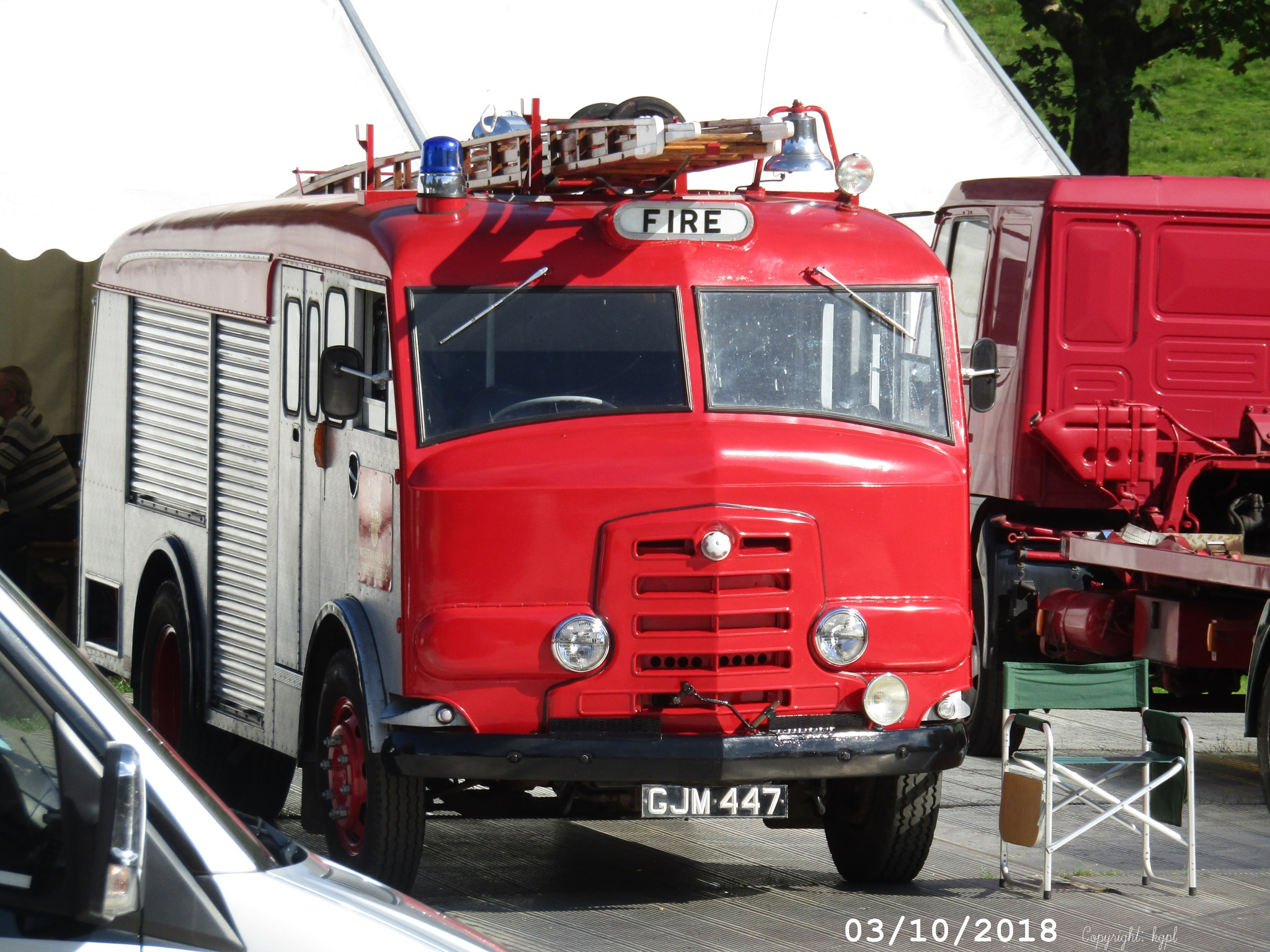 1960's fire engine by kgpl