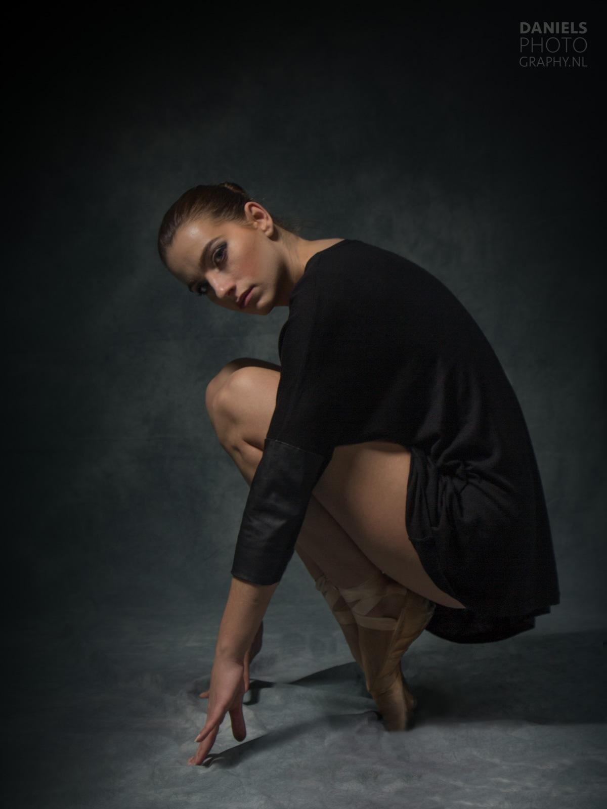 shoot of balletdanser Marielle by Gerard Daniels