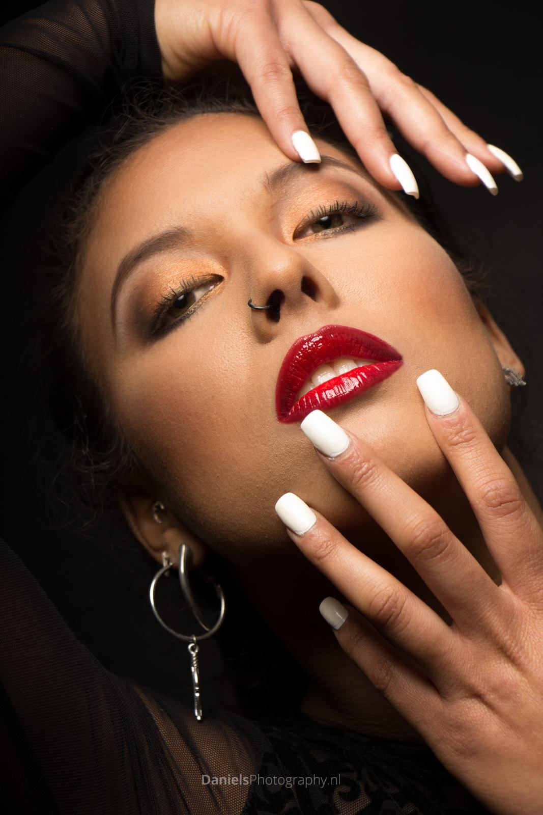 """""""Red Lips"""" with model Chayenne by Gerard Daniels"""