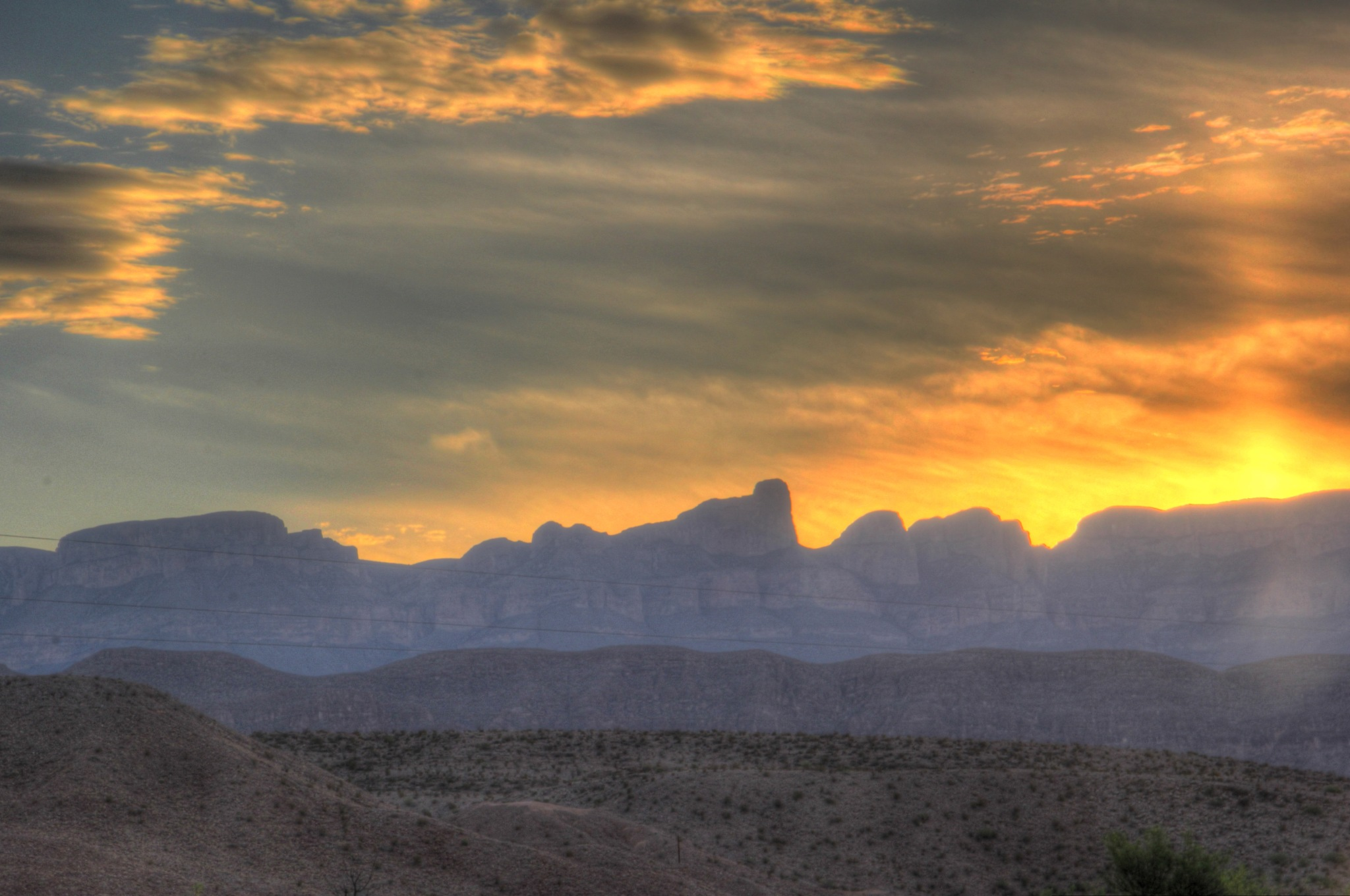 Sunrise at Big Bend National Park by kstand