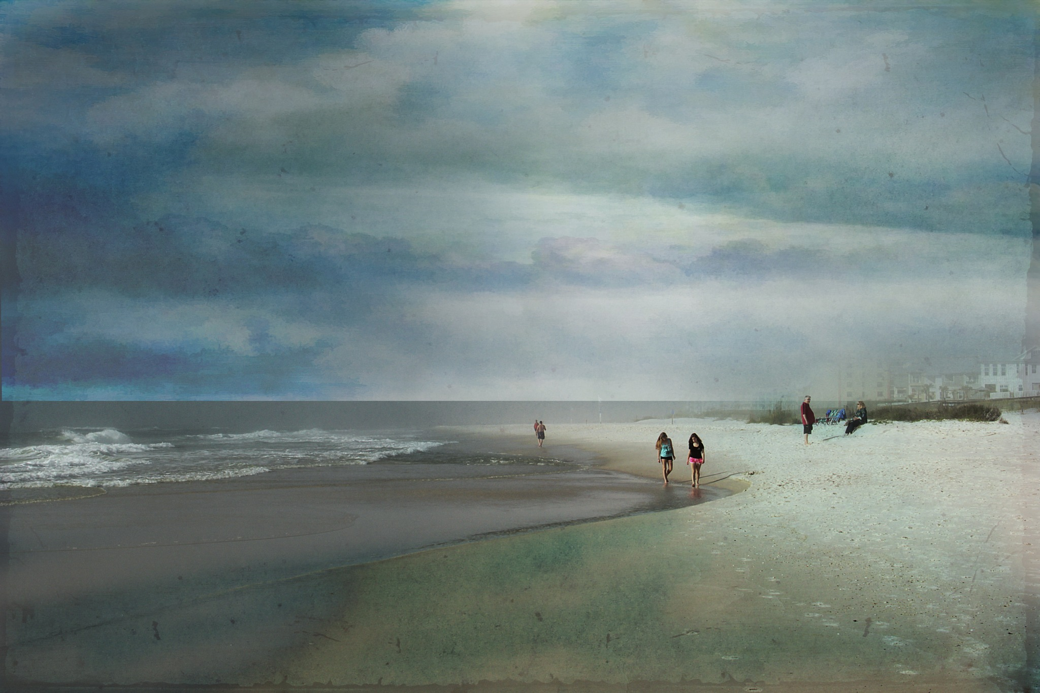 Along the Beach by kstand