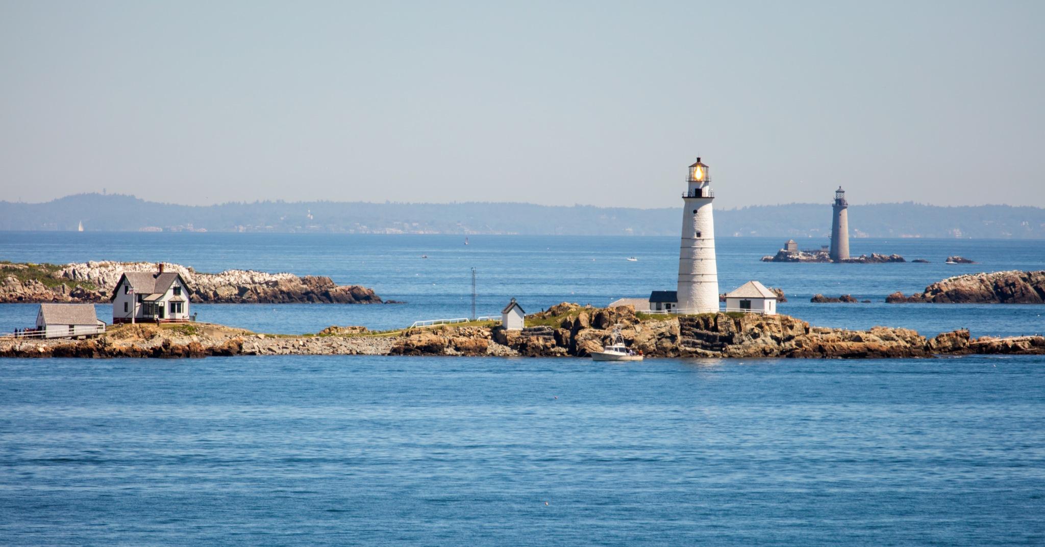 Boston Harbor by quarryclimber
