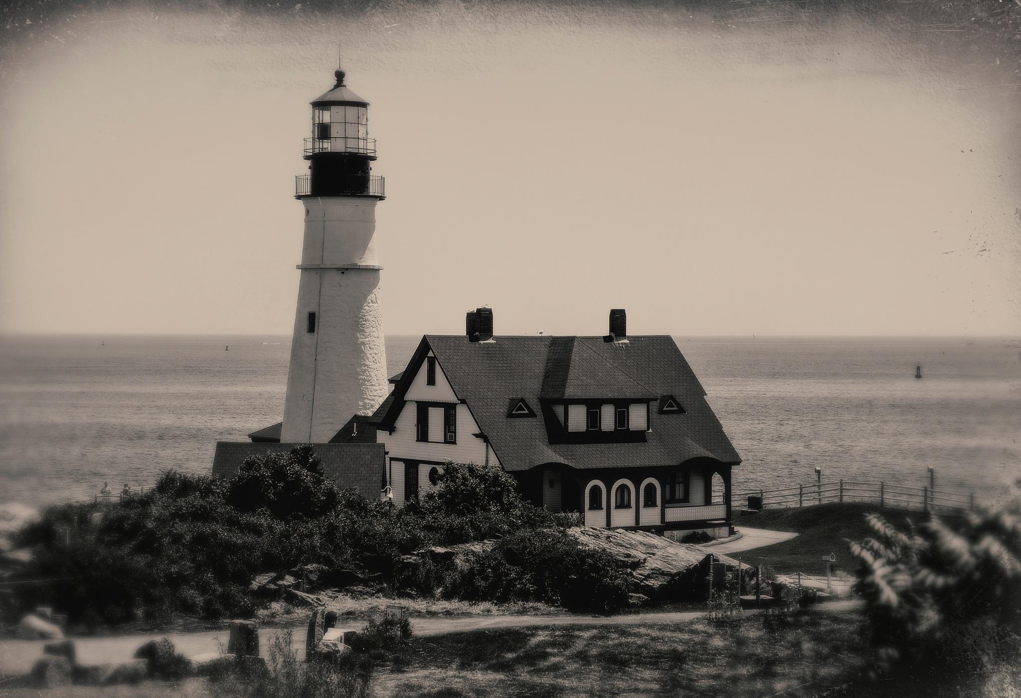 Portland Head Lighthouse by quarryclimber