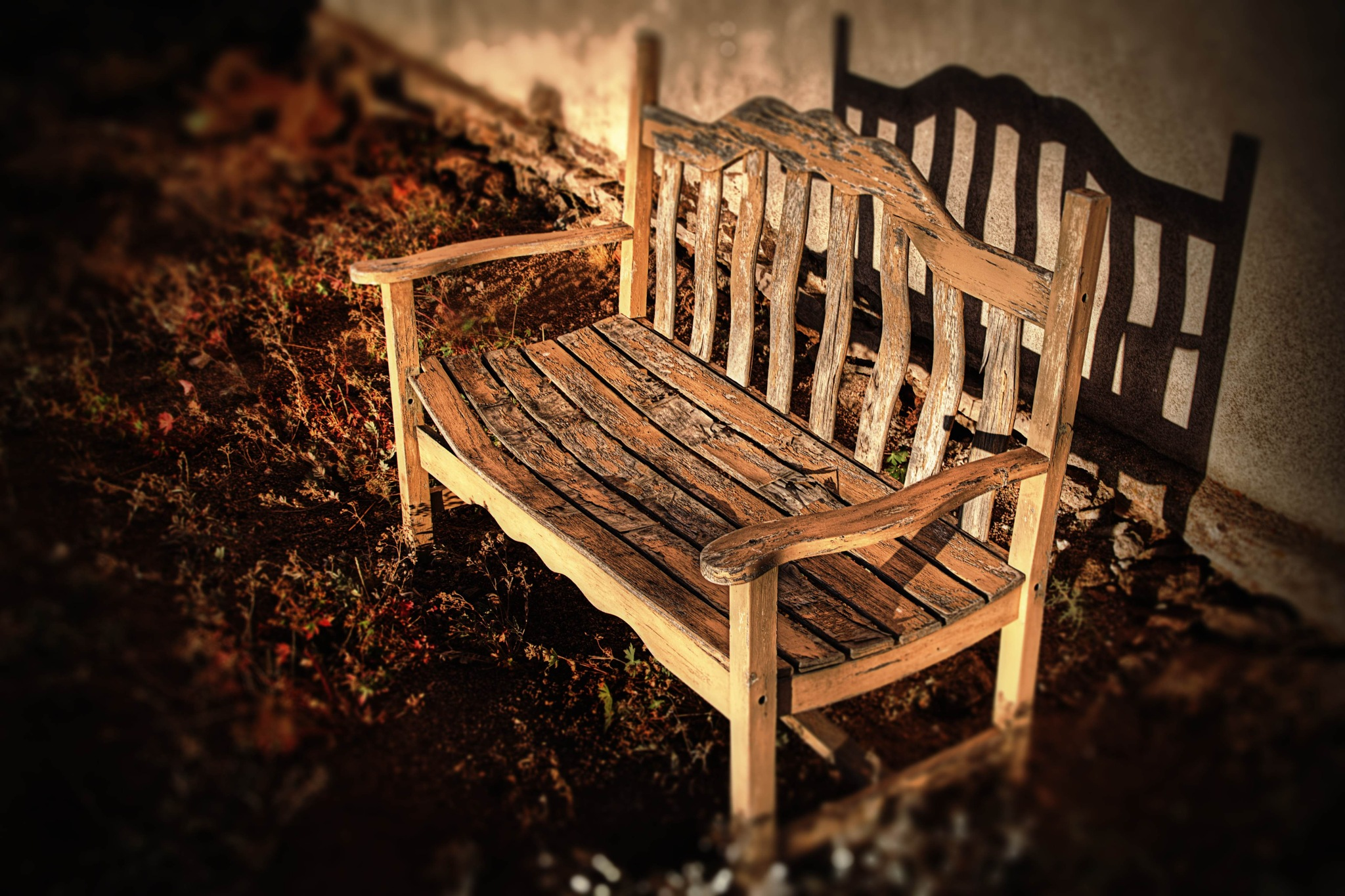 Bench Portrait by Chapguy