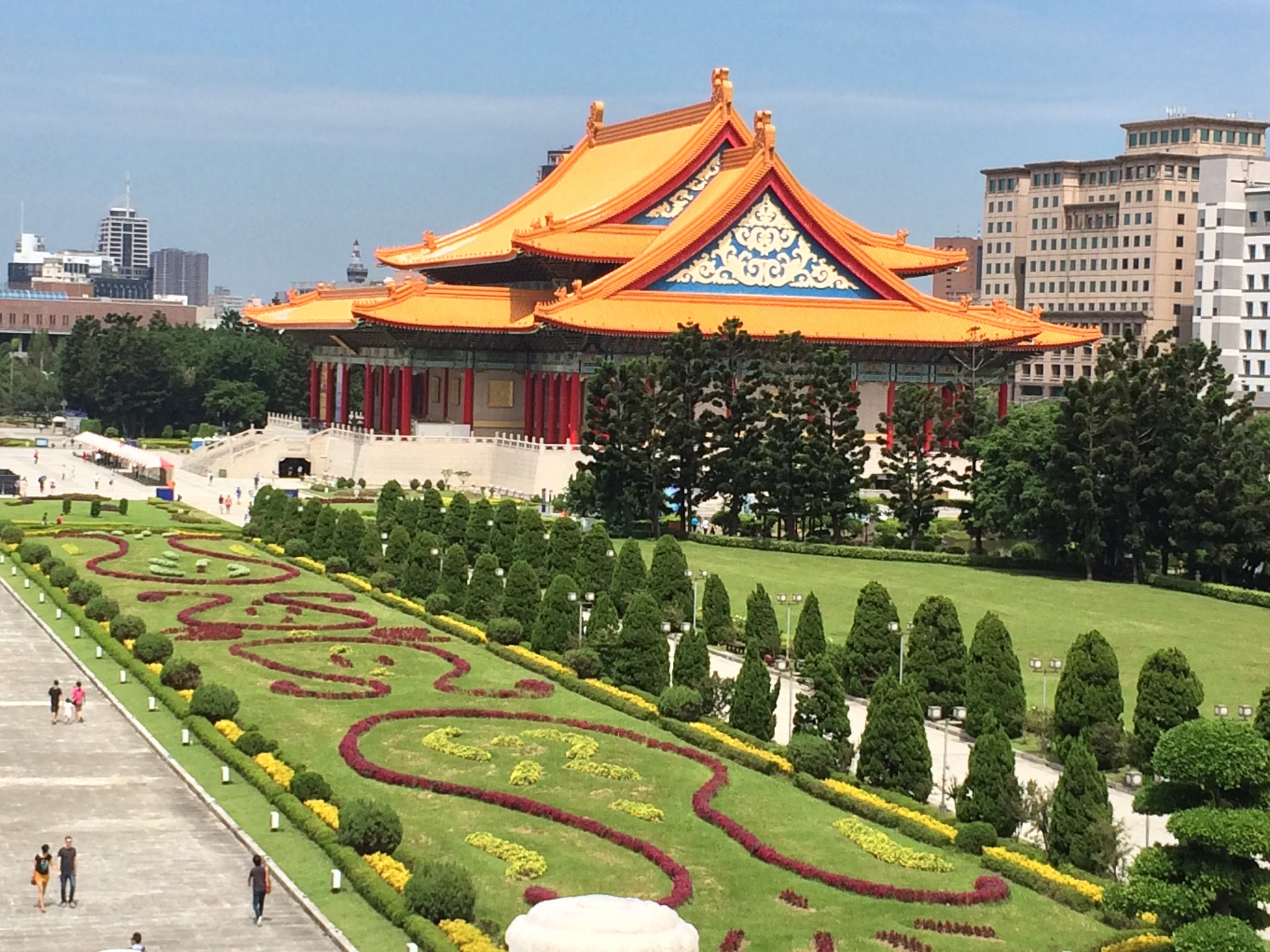 Chiang Kai Shek Memorial Park and Gardens by Veronica Brown