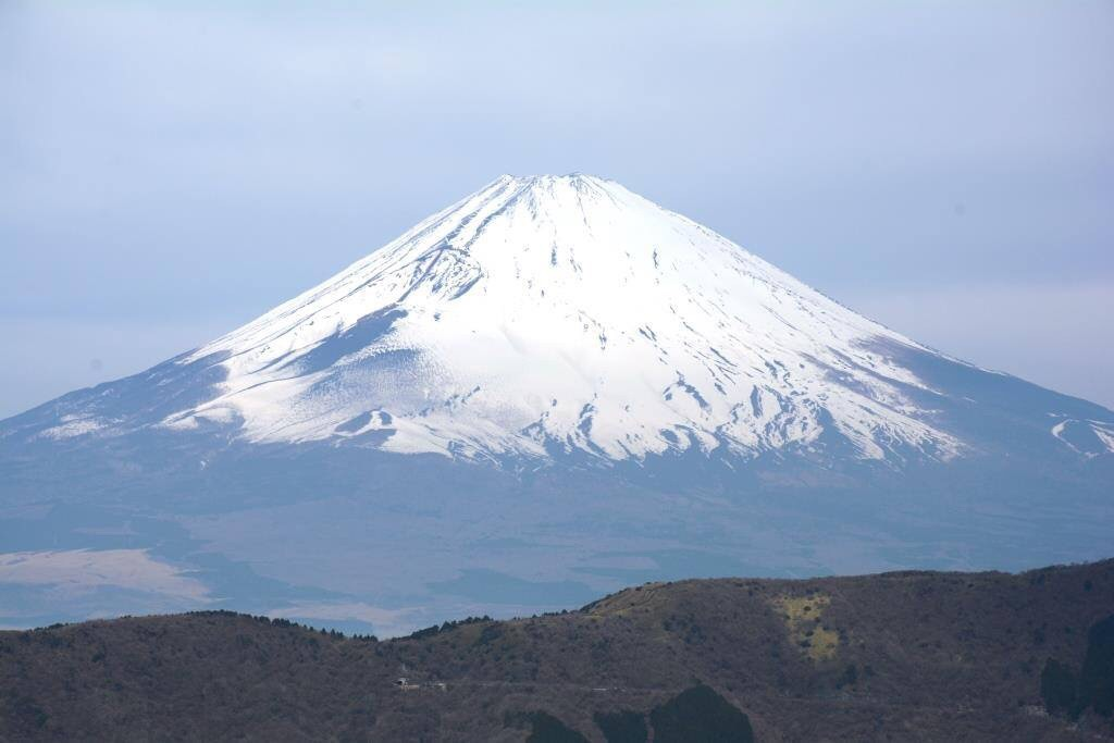 Mt Fuji from Hakone Park by Veronica Brown