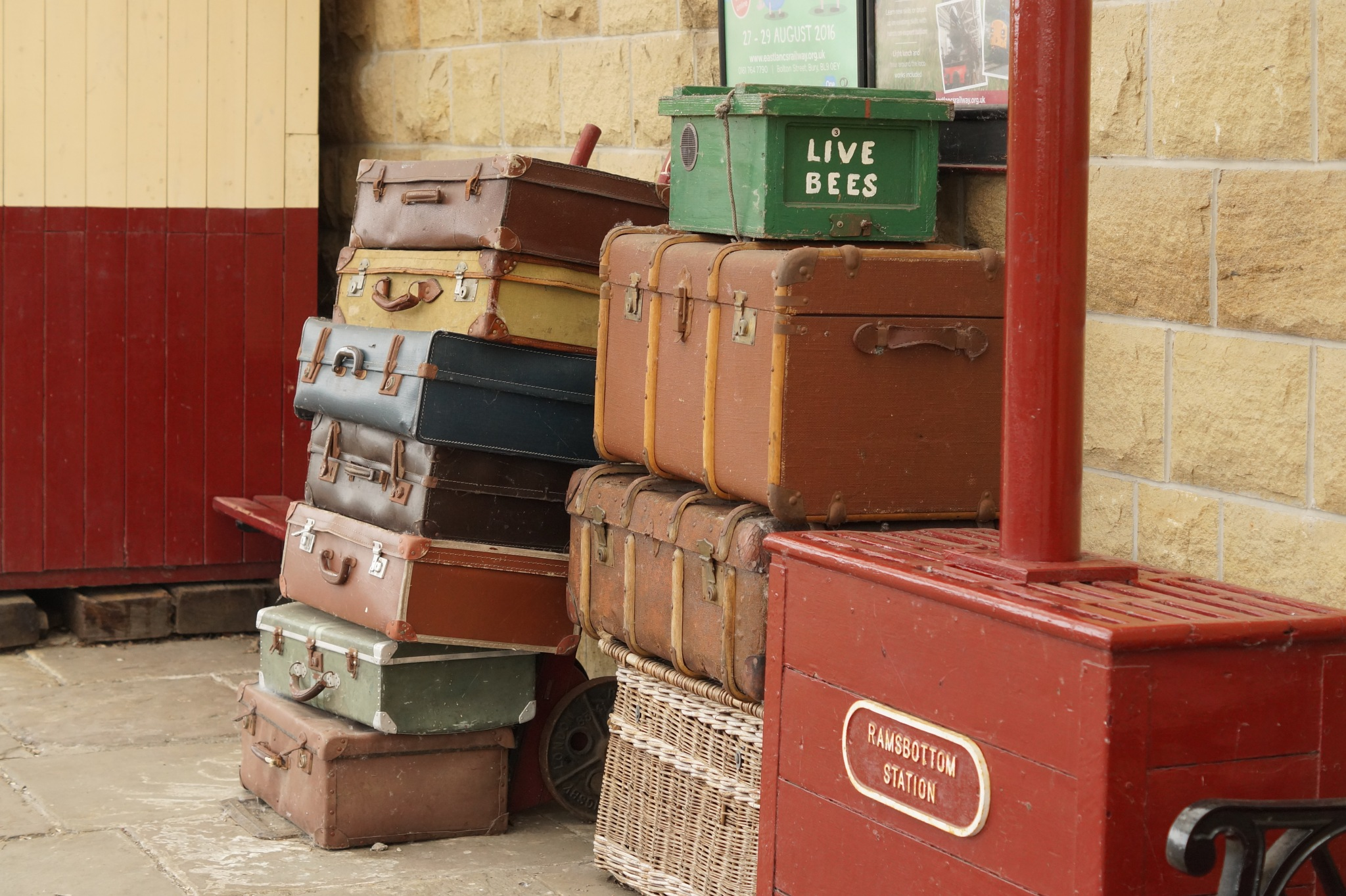 Packed and ready to leave by Steve Smith