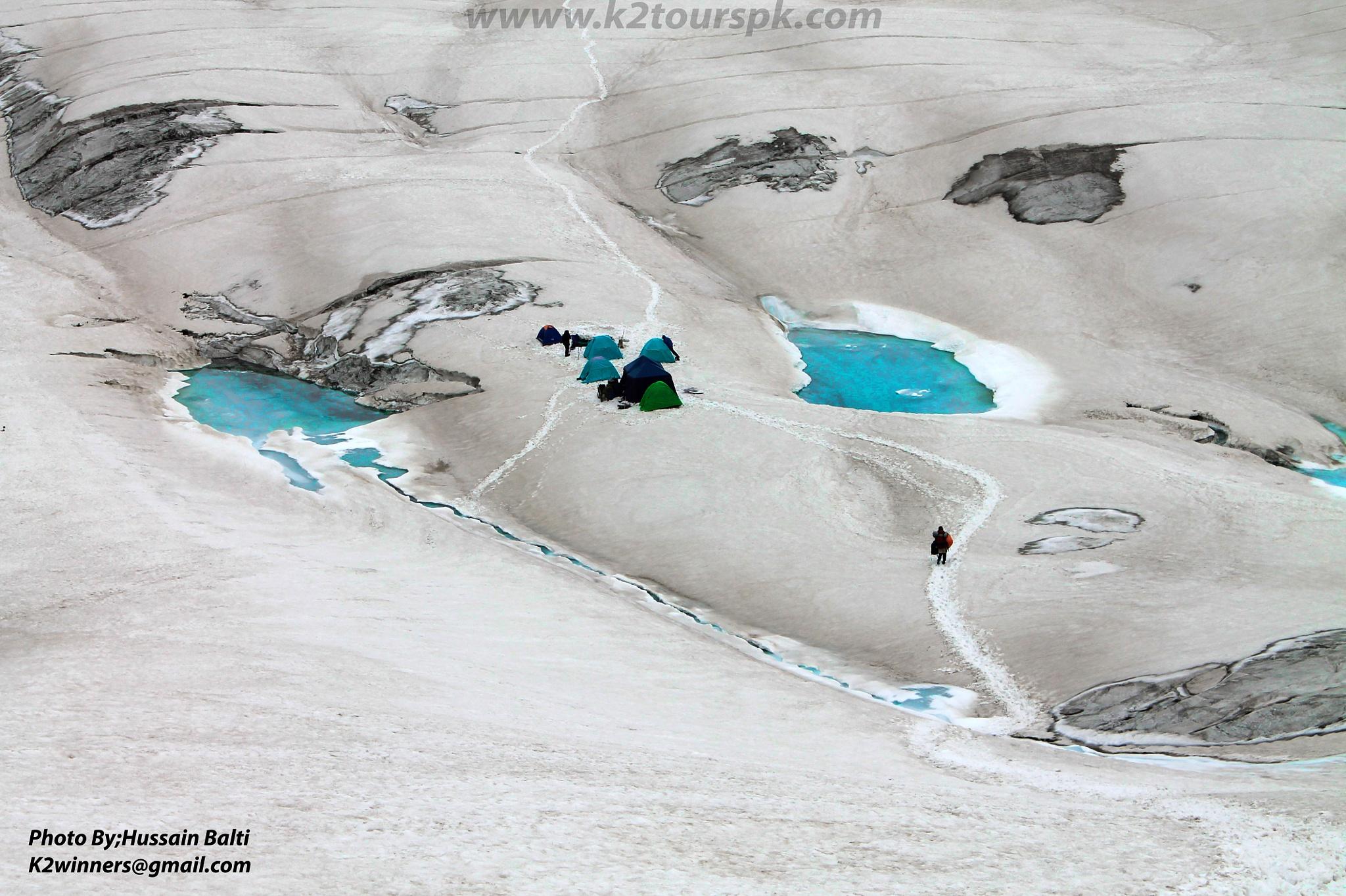 SNow Lake #Pakistan by Hussainbalti