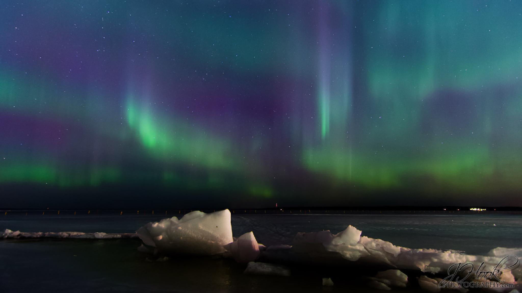 Aurora Borealis over Tampere by Jesse Koukku