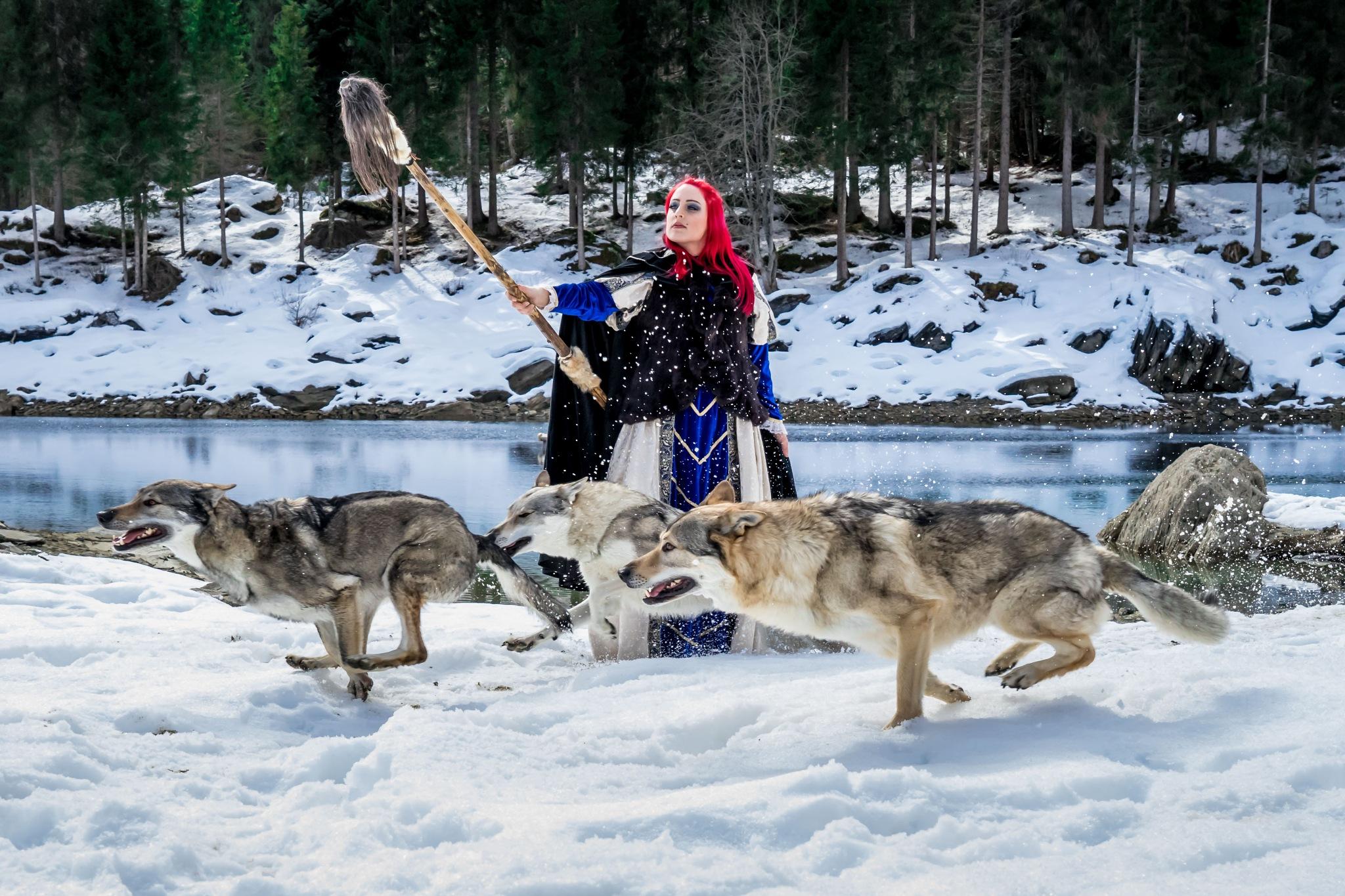 Herrin der Wölfe by Fotomotions