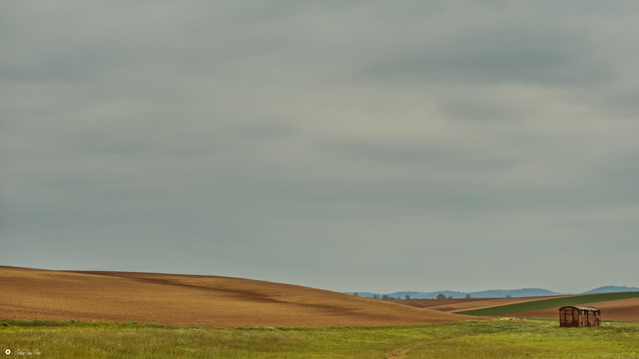 Transdanubian hills by Emer