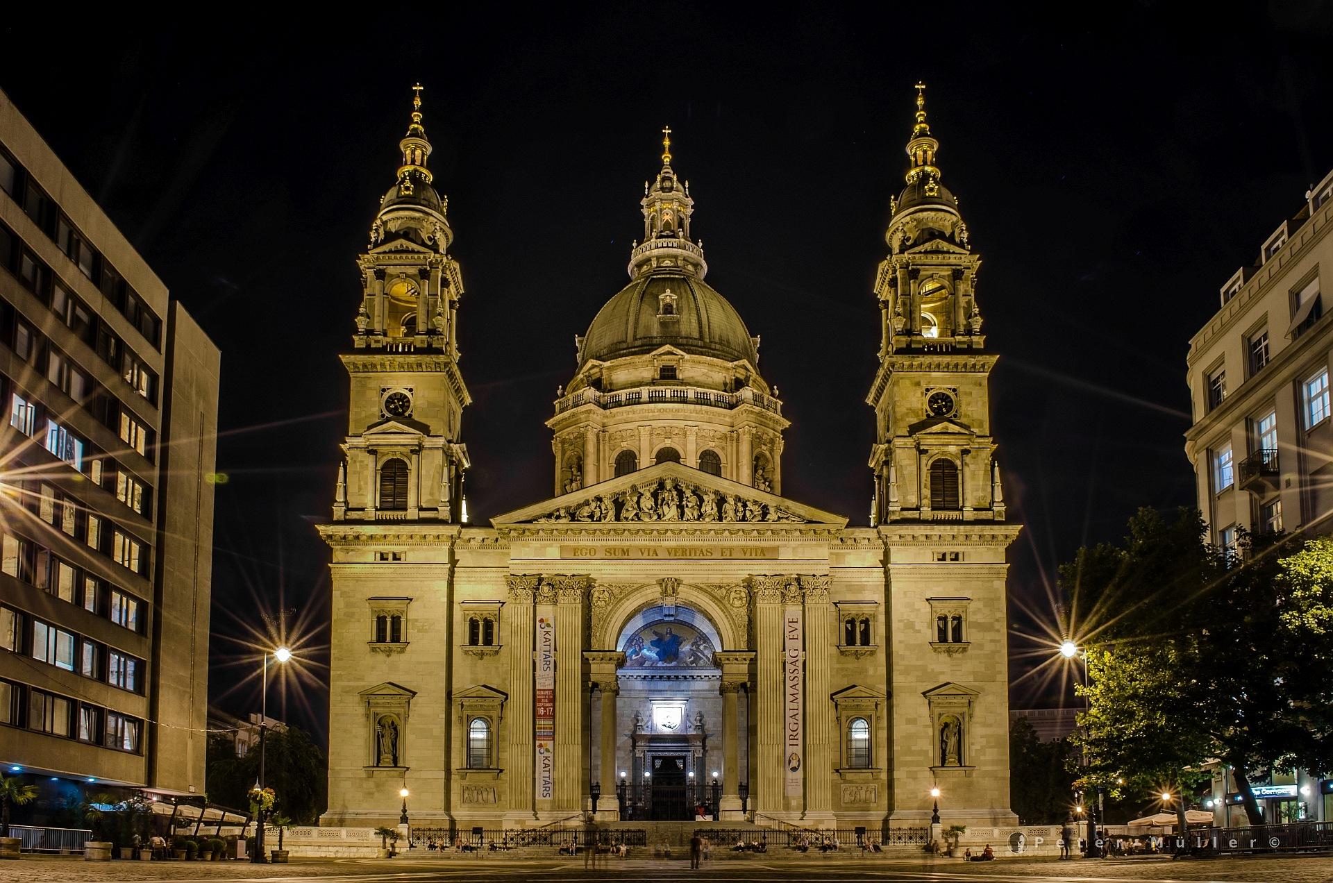 St.-Stephans-Basilika Budapest by Peter Müller