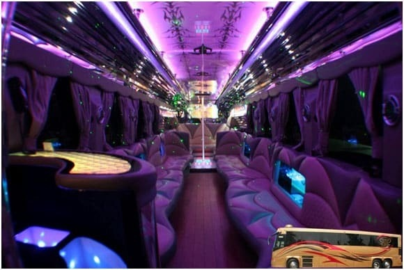 Partybus Interior by biglimos